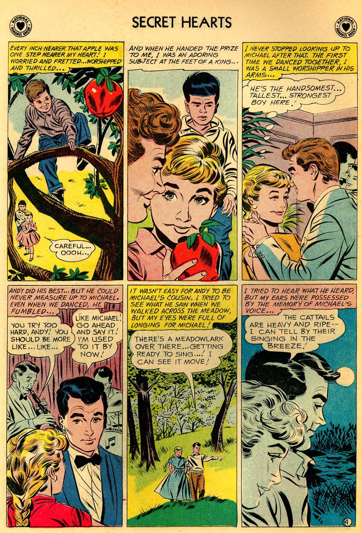 Read online Secret Hearts comic -  Issue #66 - 6