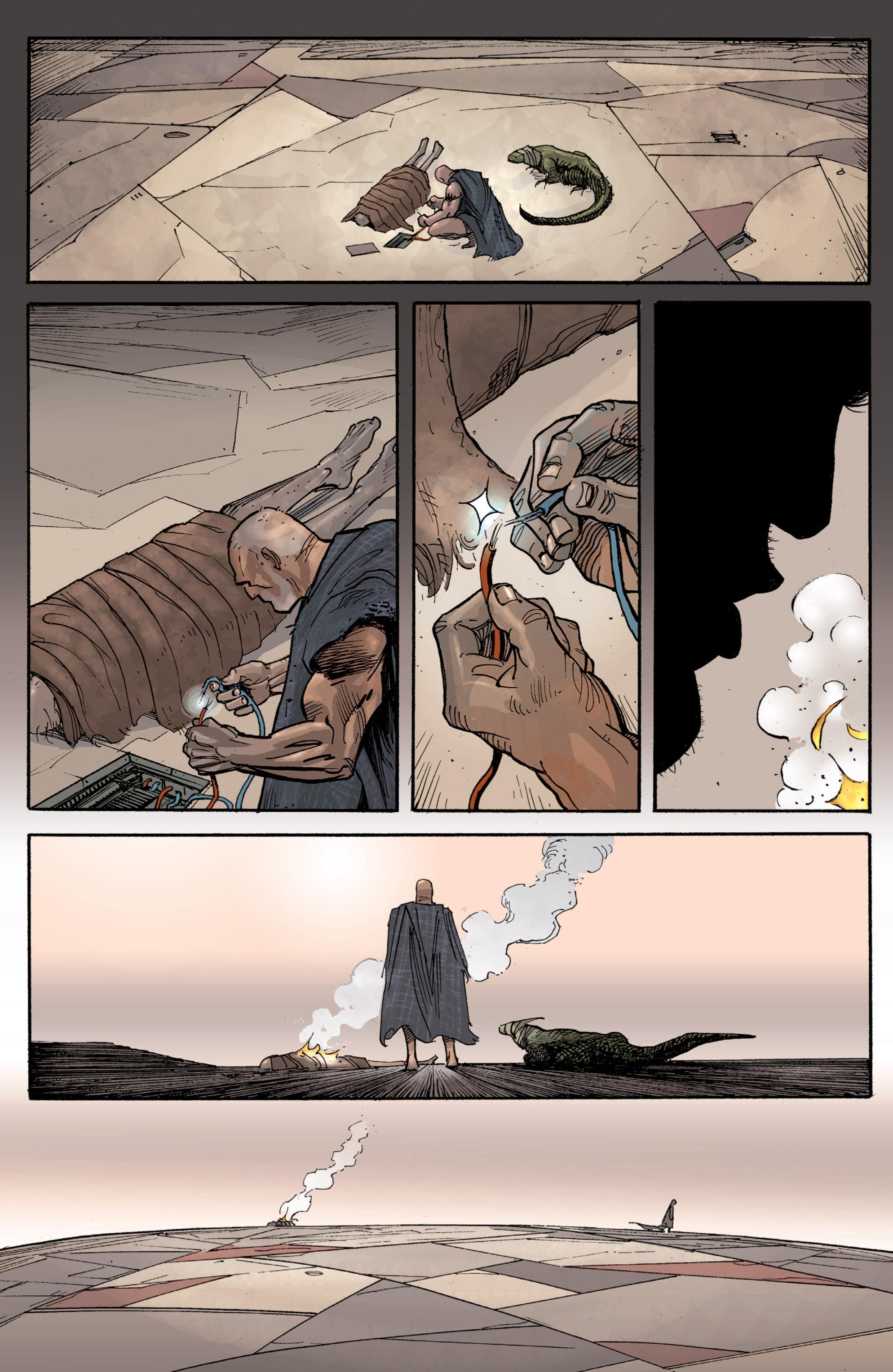 Read online Planetoid comic -  Issue # TPB - 132