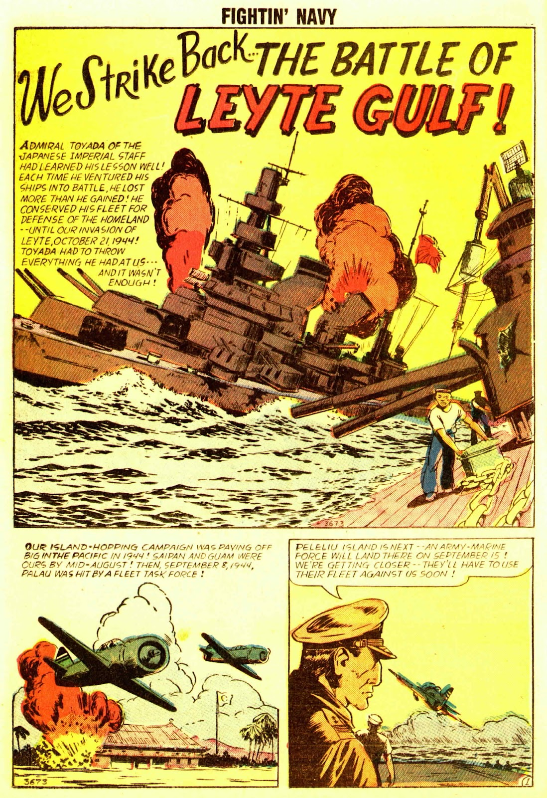 Read online Fightin' Navy comic -  Issue #83 - 20