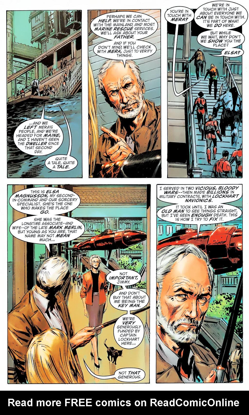 Read online Aquaman: Sword of Atlantis comic -  Issue #42 - 20