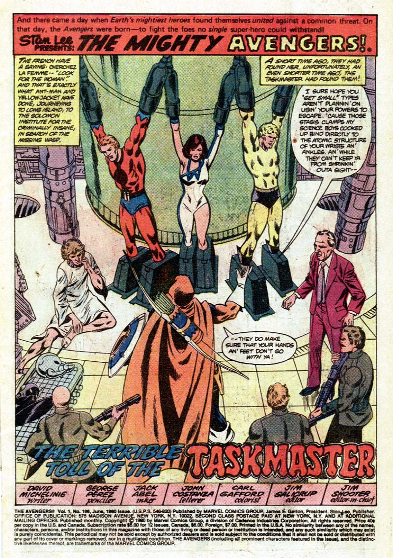 The Avengers (1963) 196 Page 1