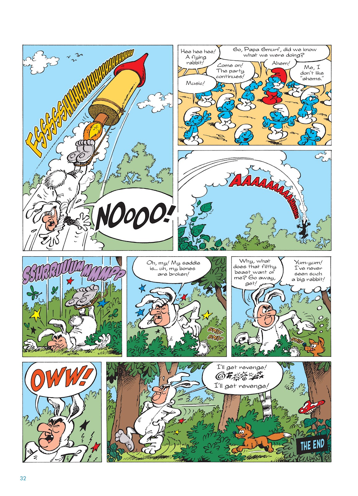 Read online The Smurfs comic -  Issue #14 - 33