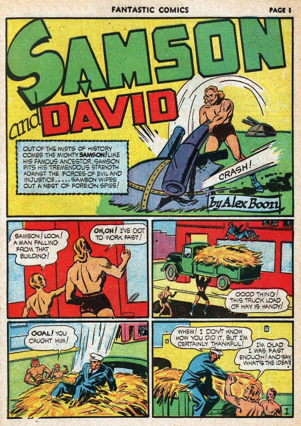 Read online Fantastic Comics comic -  Issue #20 - 2