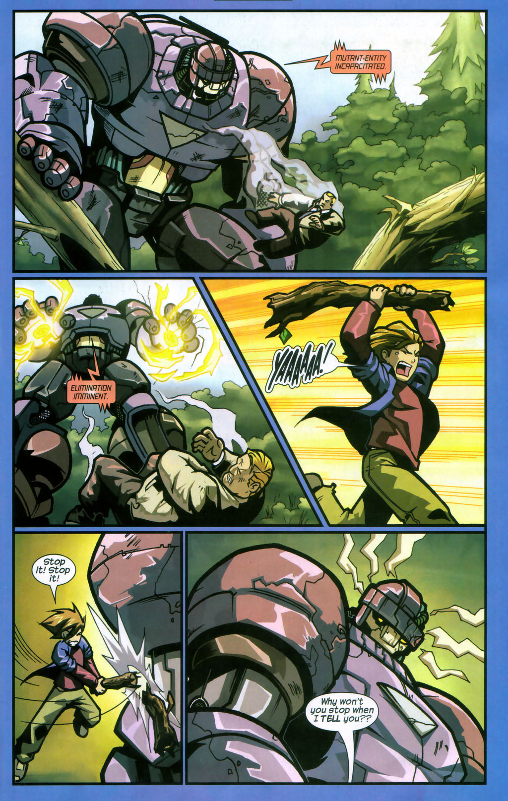 Read online Sentinel comic -  Issue #12 - 8