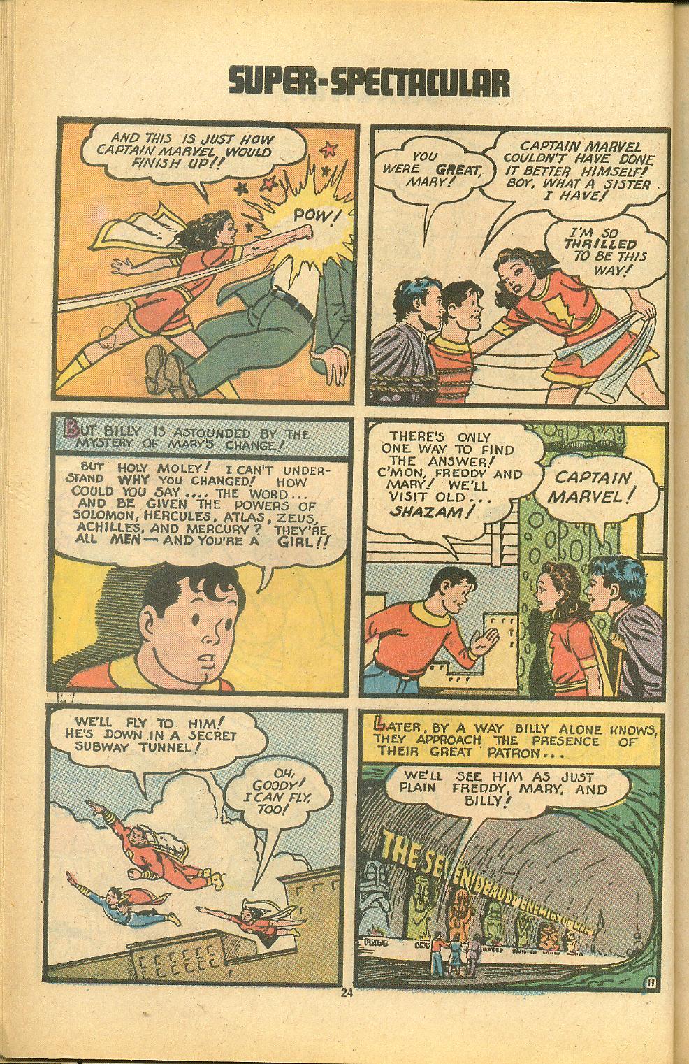 Read online Shazam! (1973) comic -  Issue #8 - 24