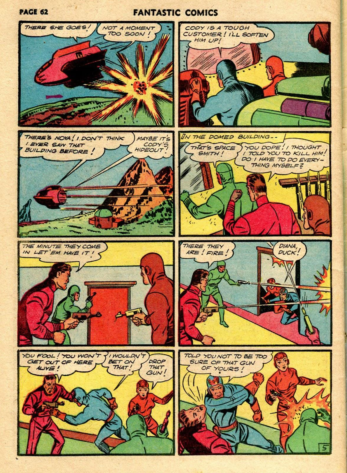 Read online Fantastic Comics comic -  Issue #21 - 60