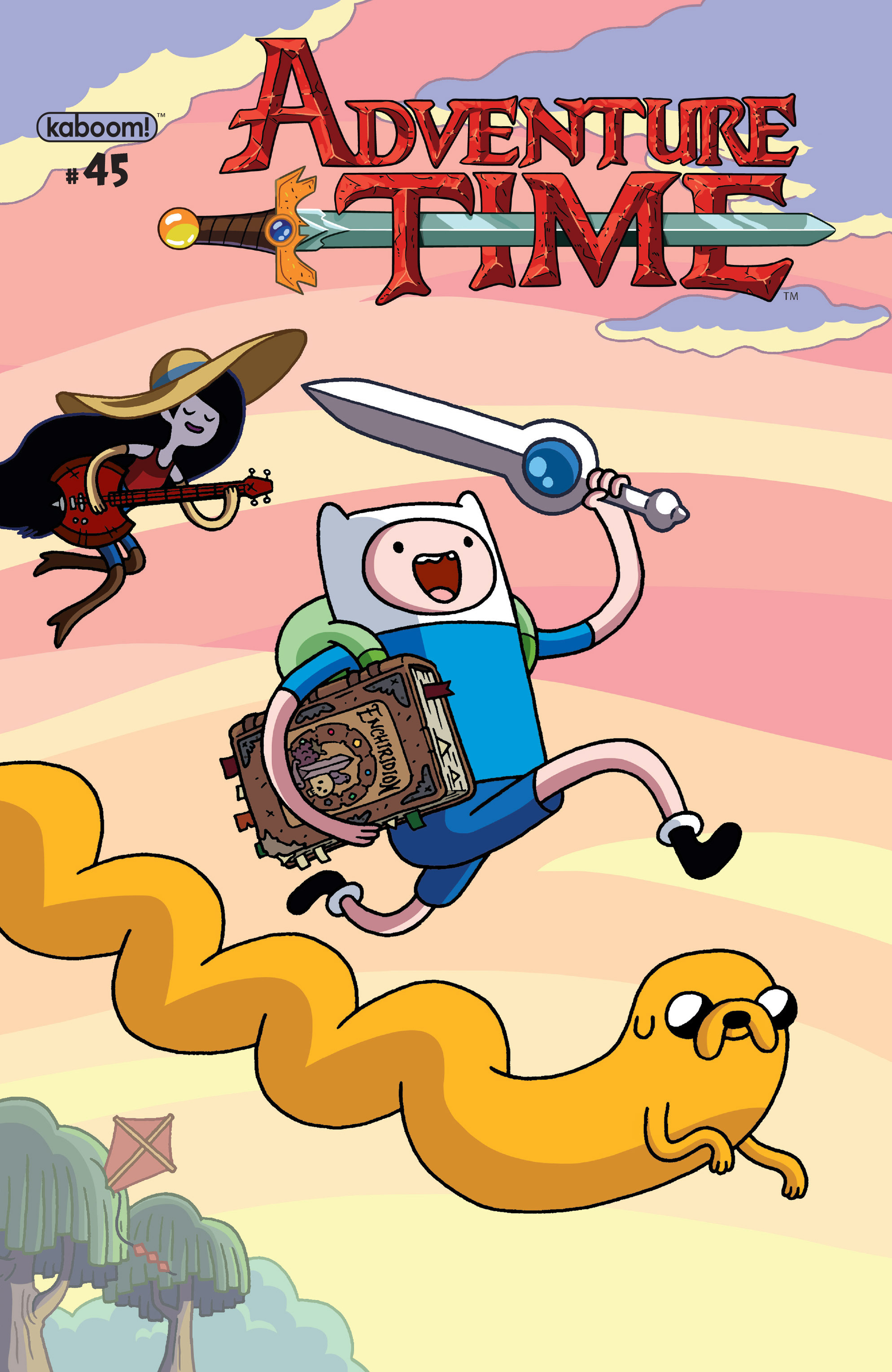 Adventure Time 45 Page 1