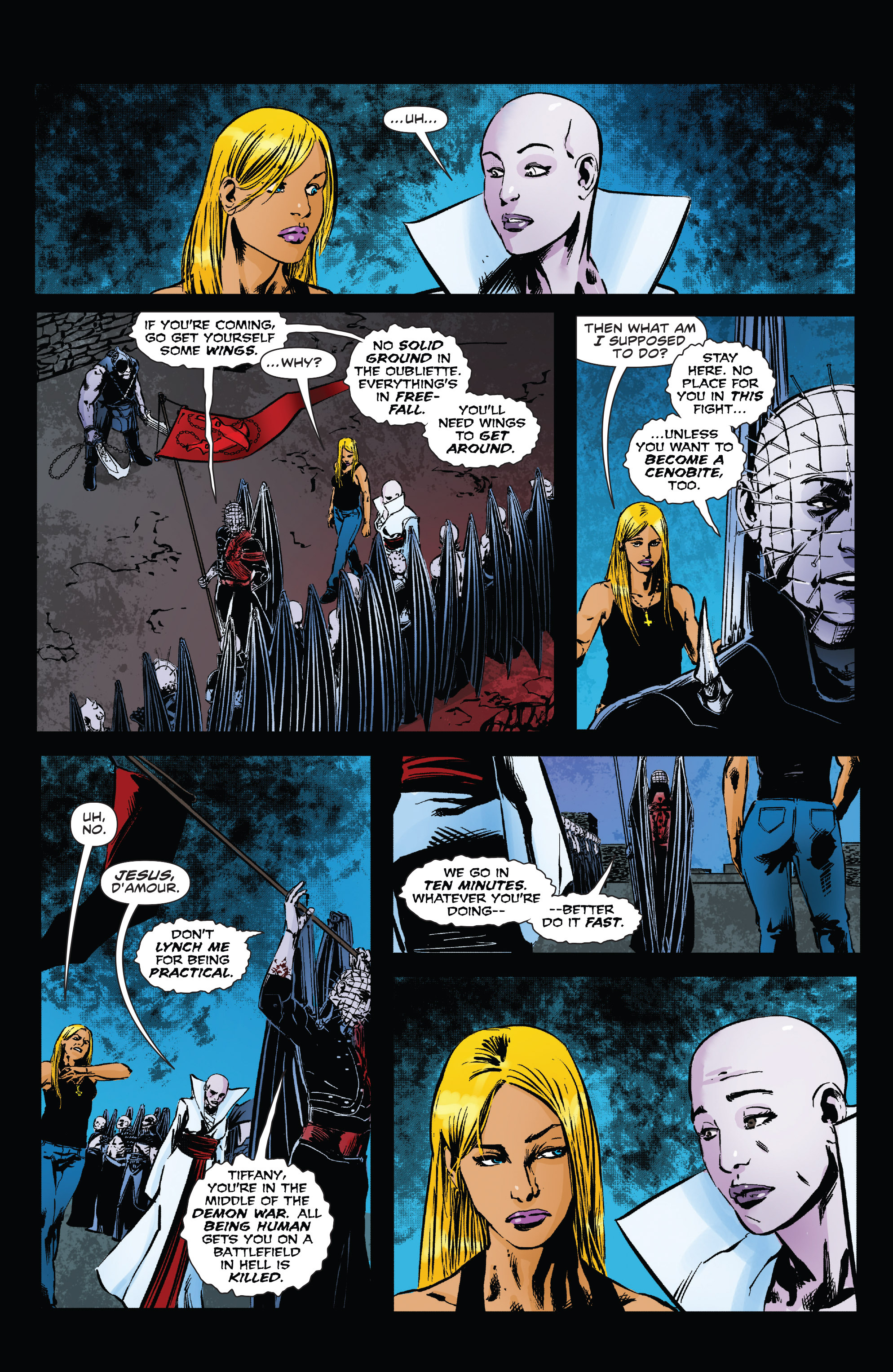 Read online Clive Barker's Hellraiser: The Dark Watch comic -  Issue # TPB 3 - 63