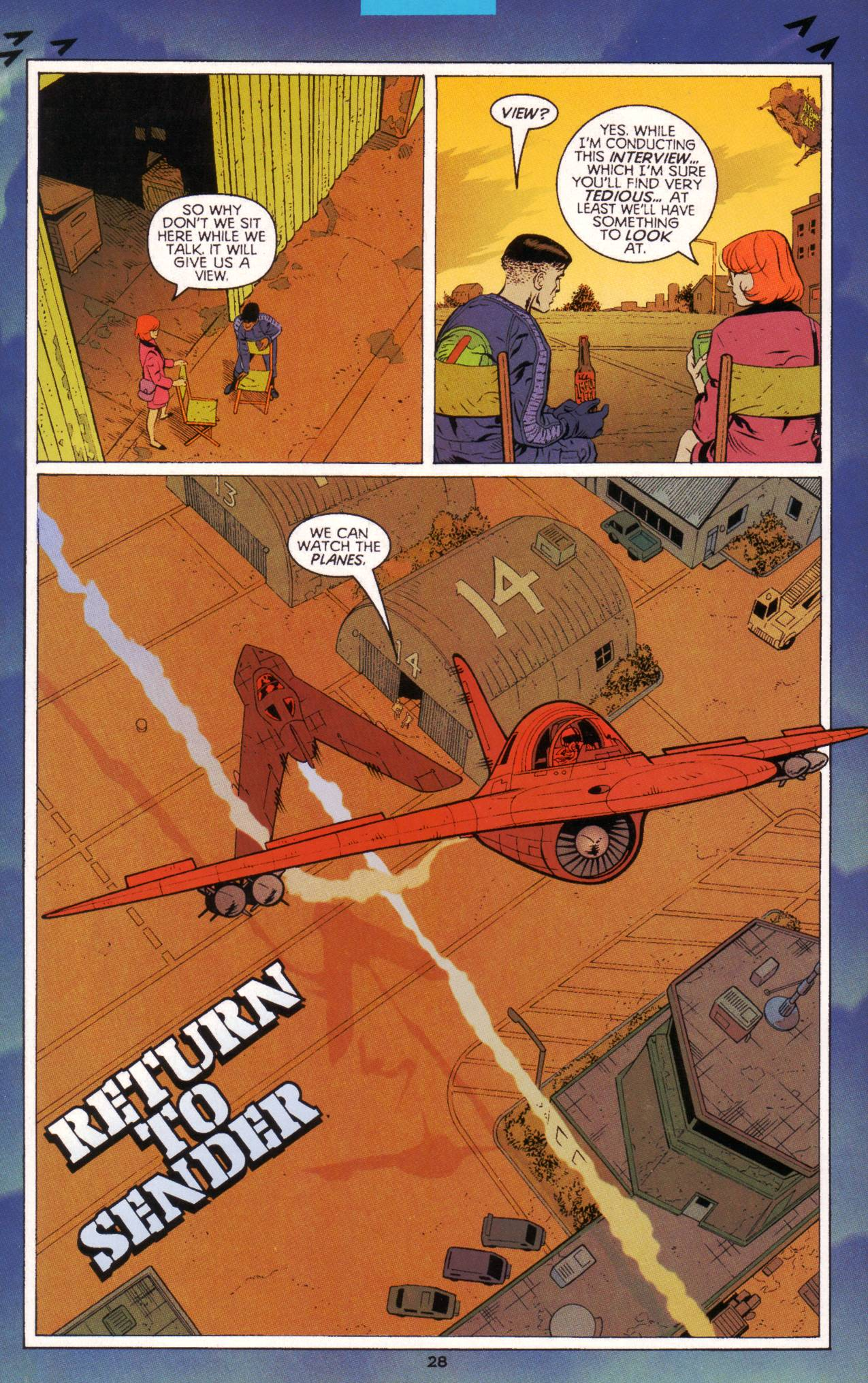 Read online Tangent Comics/ Green Lantern comic -  Issue # Full - 29