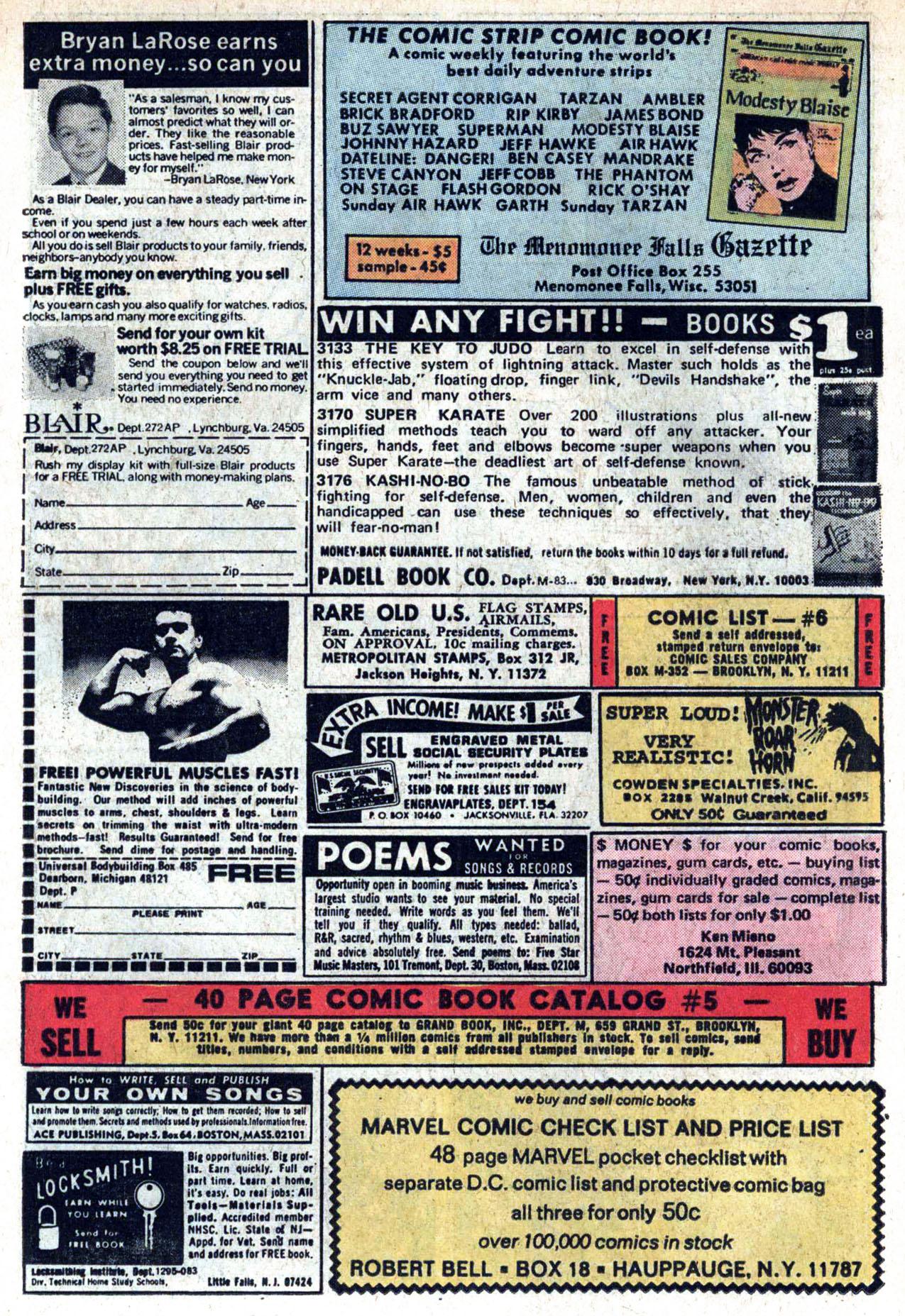Read online Amazing Adventures (1970) comic -  Issue #20 - 18