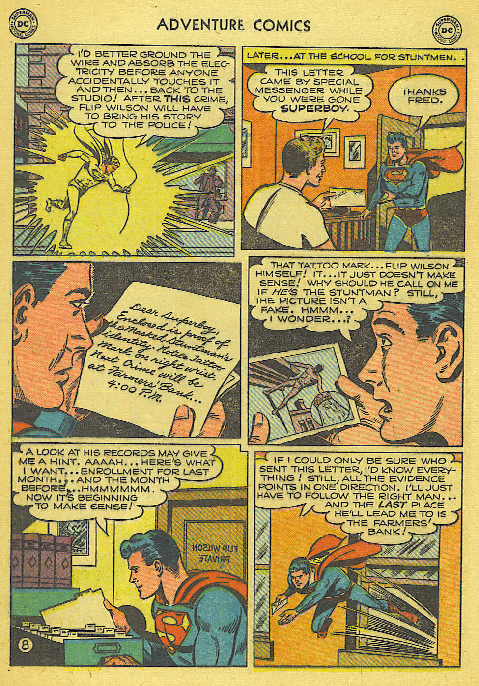 Read online Adventure Comics (1938) comic -  Issue #165 - 9