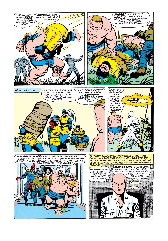 Read online Uncanny X-Men (1963) comic -  Issue #3 - 22
