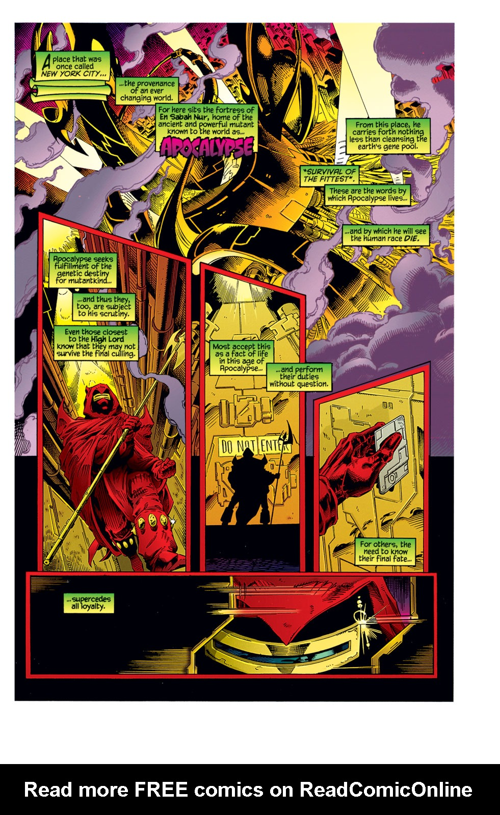 Read online Age of Apocalypse: The Chosen comic -  Issue #Age of Apocalypse: The Chosen Full - 2