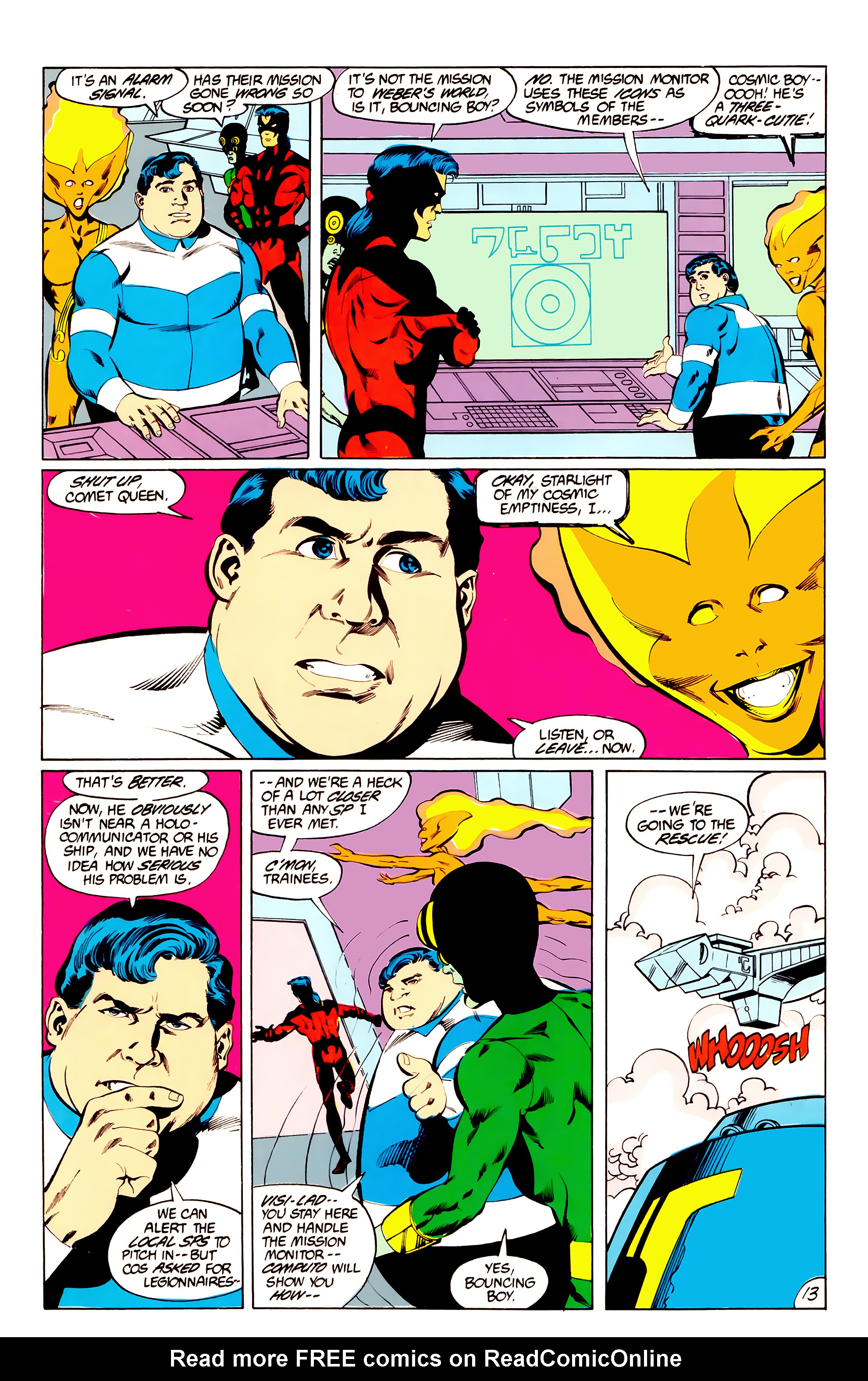 Legion of Super-Heroes (1984) _Annual_3 Page 13