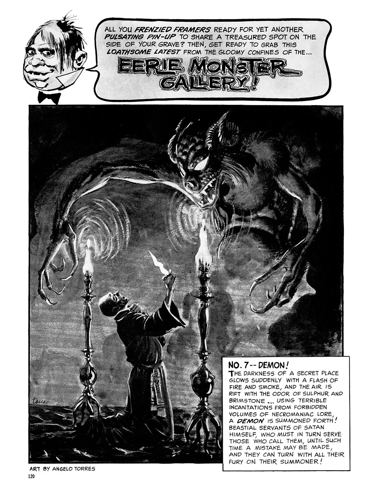 Read online Eerie Archives comic -  Issue # TPB 2 - 121
