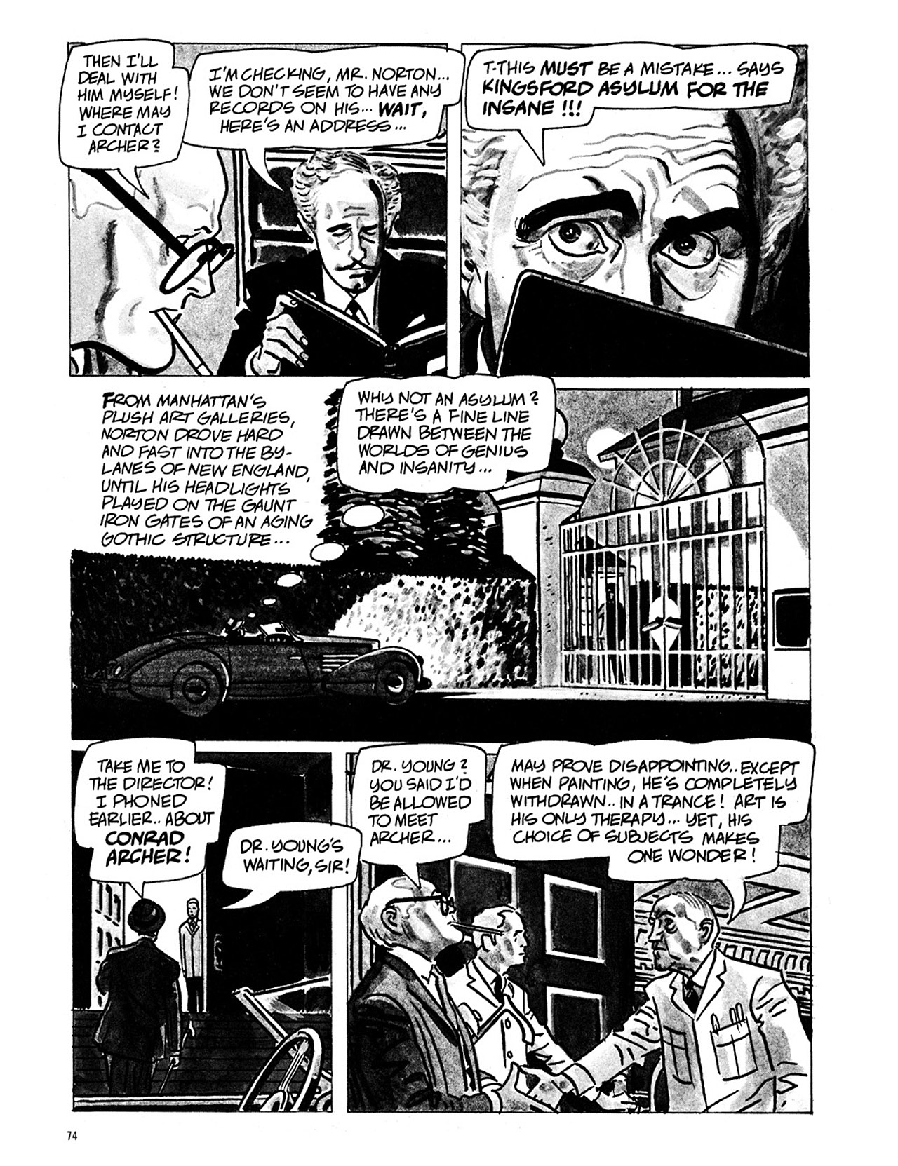 Read online Eerie Archives comic -  Issue # TPB 1 - 75