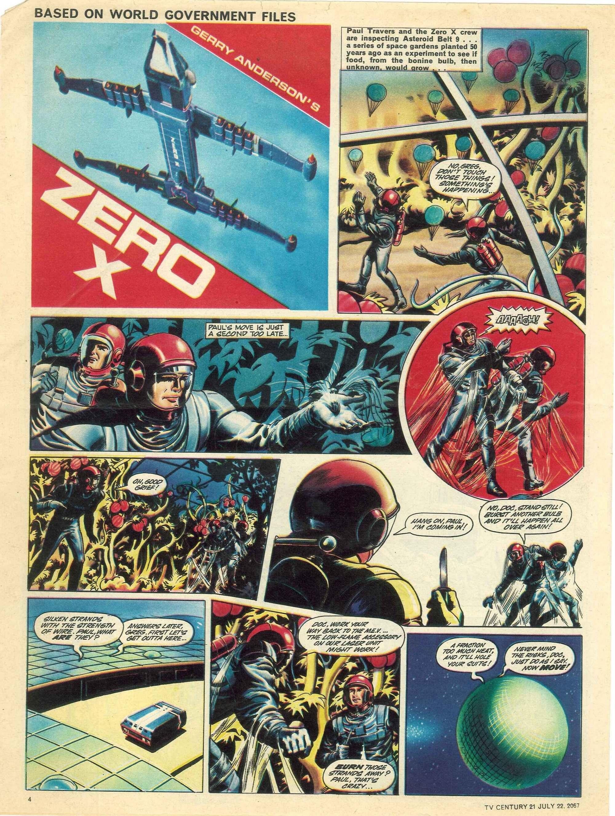 Read online TV Century 21 (TV 21) comic -  Issue #131 - 4