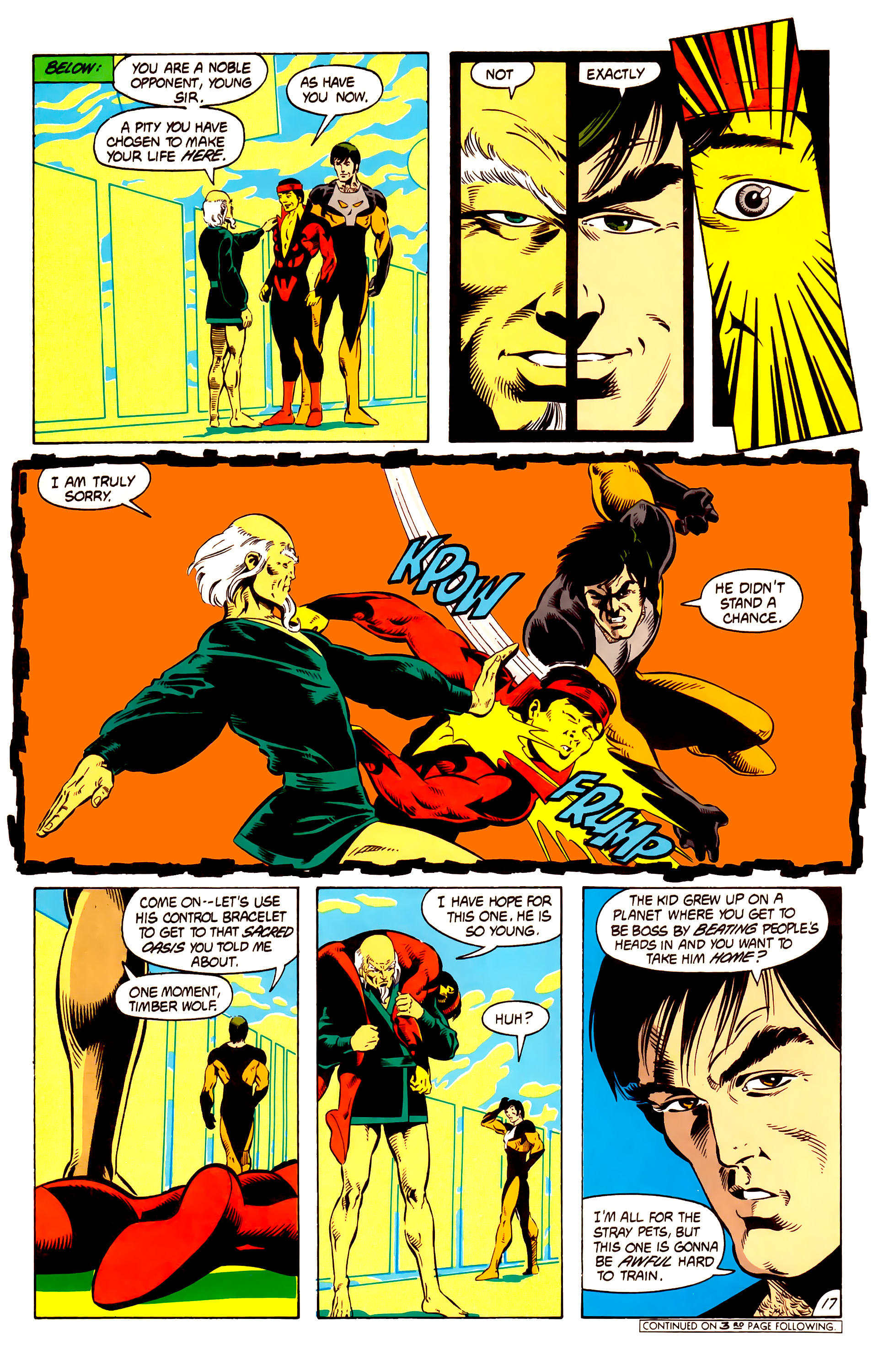 Legion of Super-Heroes (1984) 13 Page 18