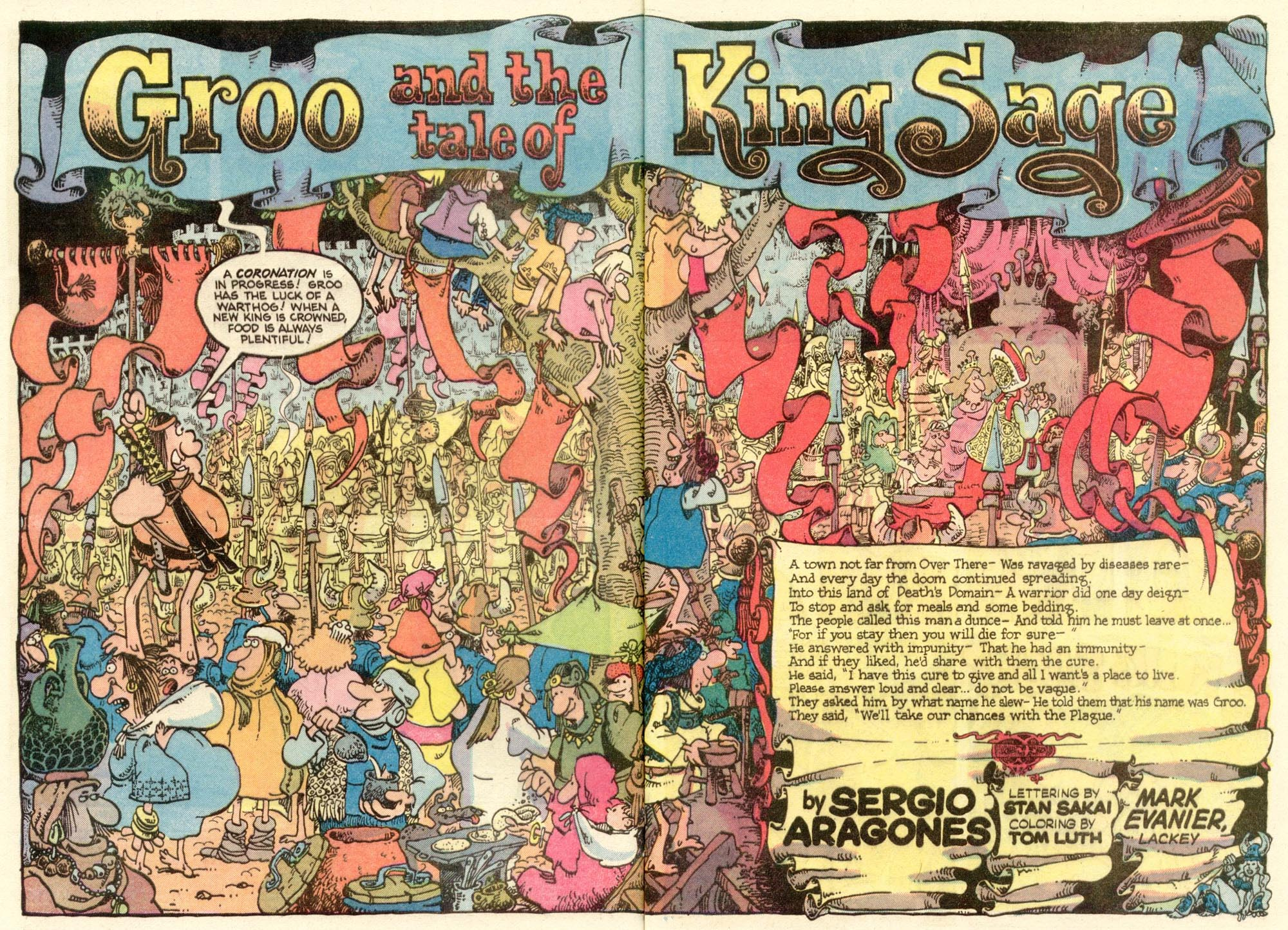 Read online Sergio Aragonés Groo the Wanderer comic -  Issue #13 - 3