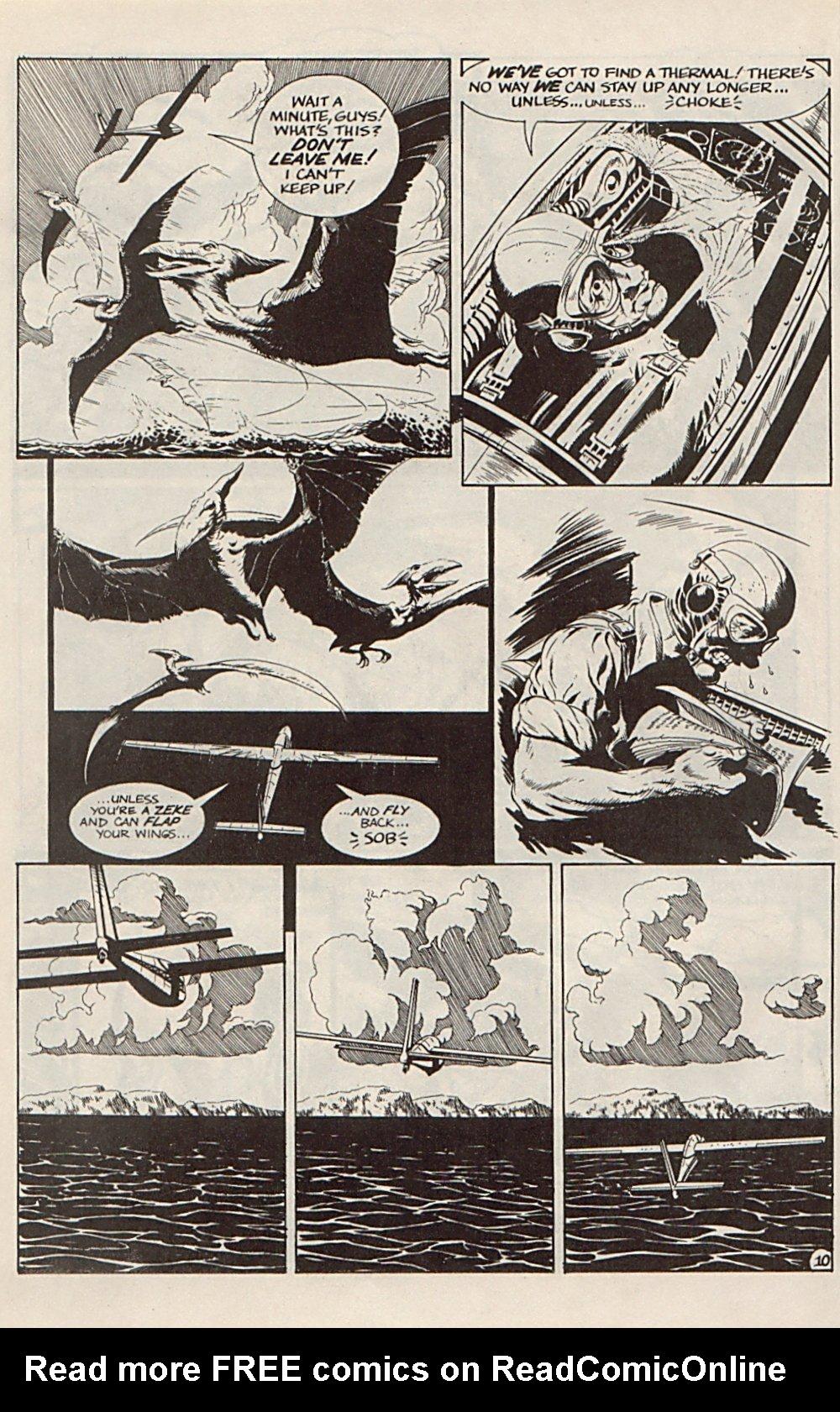 Read online Xenozoic Tales comic -  Issue #6 - 22