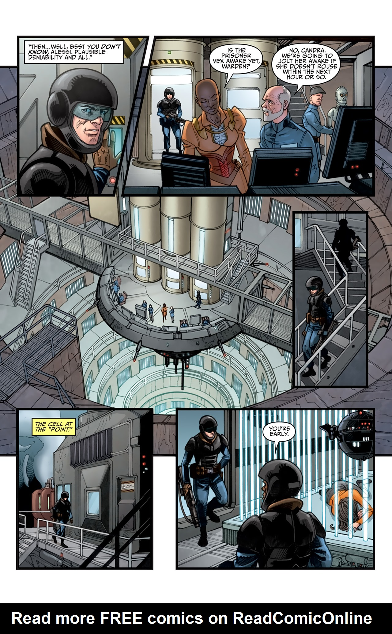 Read online Star Wars: Agent Of The Empire - Hard Targets comic -  Issue #3 - 16