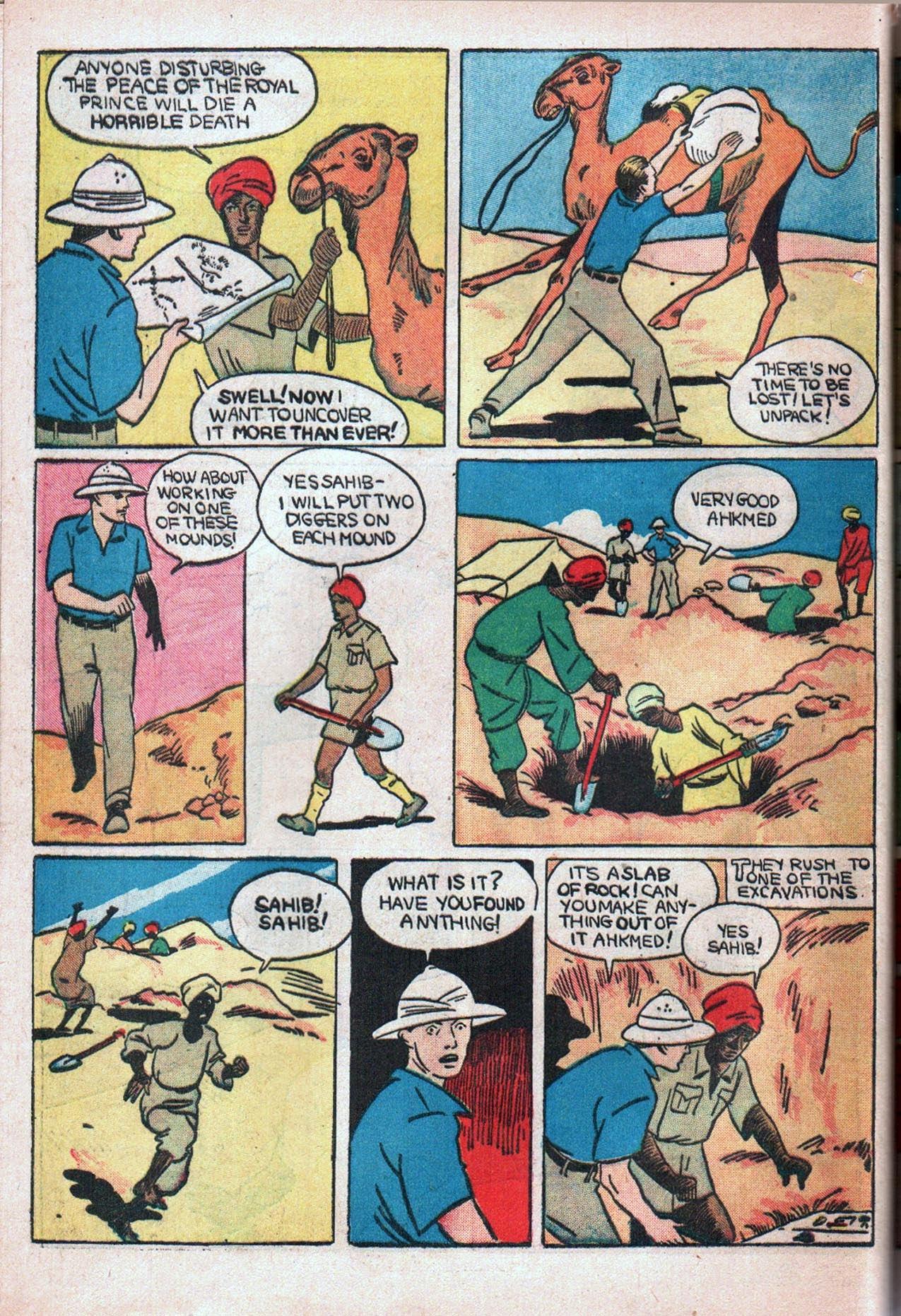 Read online Amazing Man Comics comic -  Issue #20 - 53