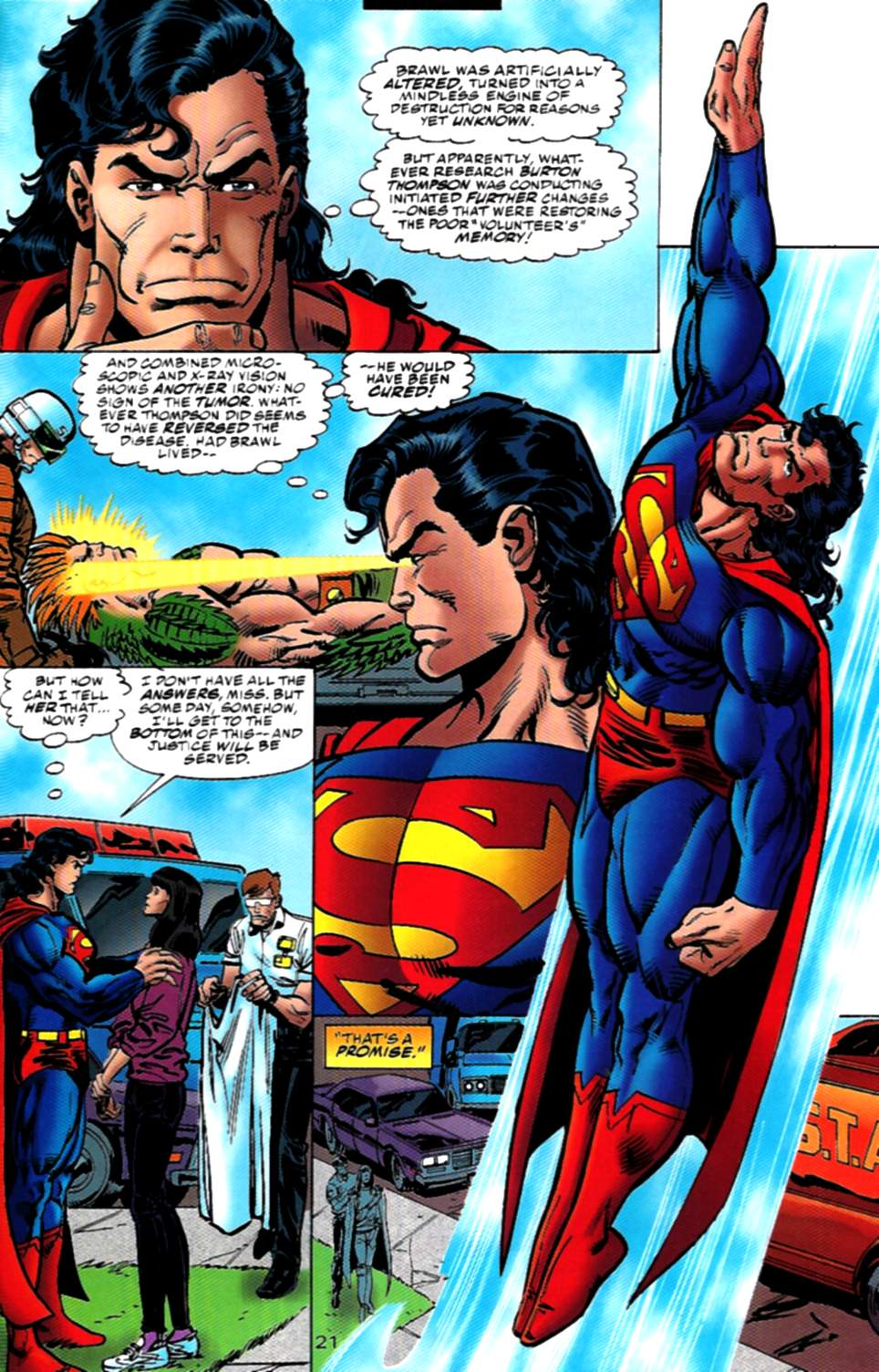 Read online Action Comics (1938) comic -  Issue #724 - 21