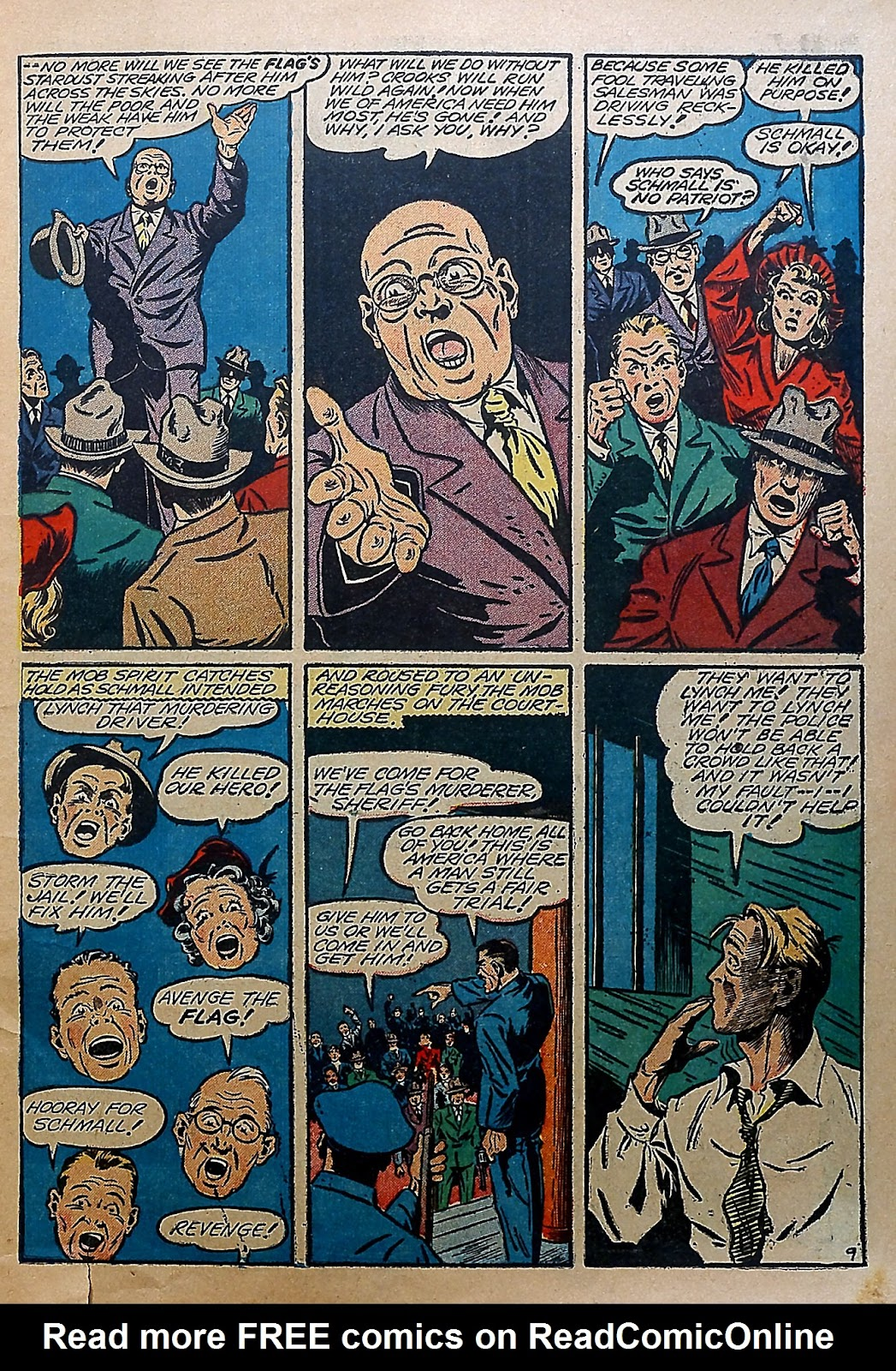 Our Flag Comics issue 5 - Page 6