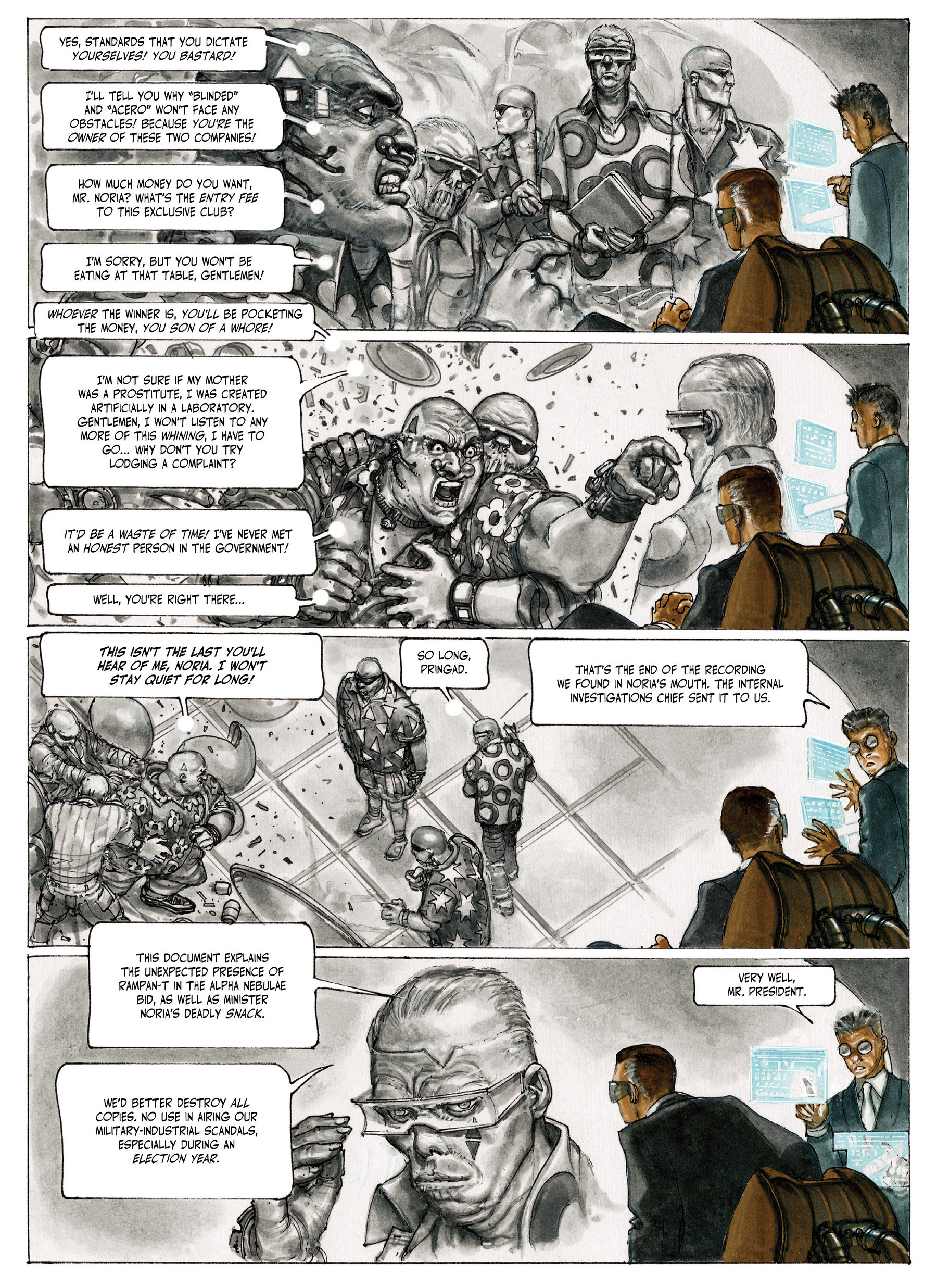 Read online The Fourth Power comic -  Issue #4 - 57