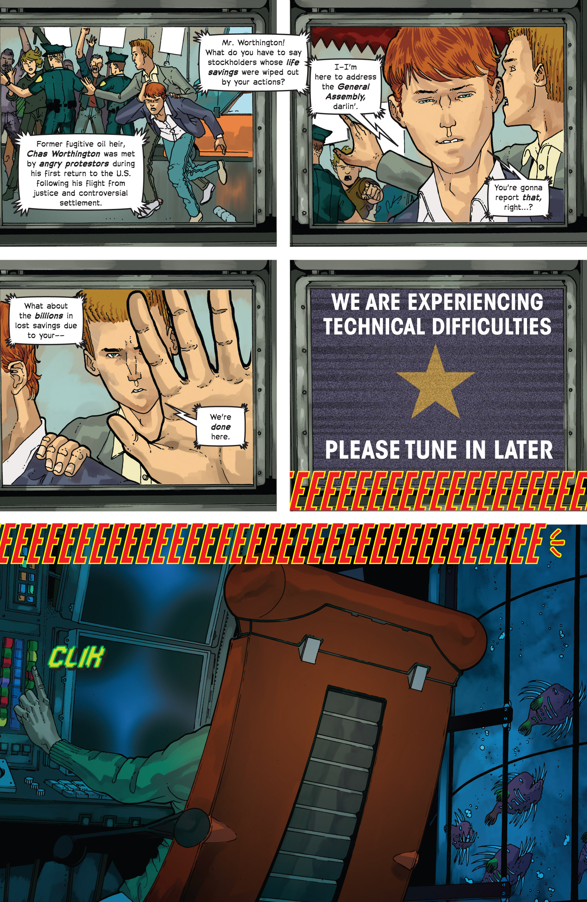 Read online Great Pacific comic -  Issue #10 - 10