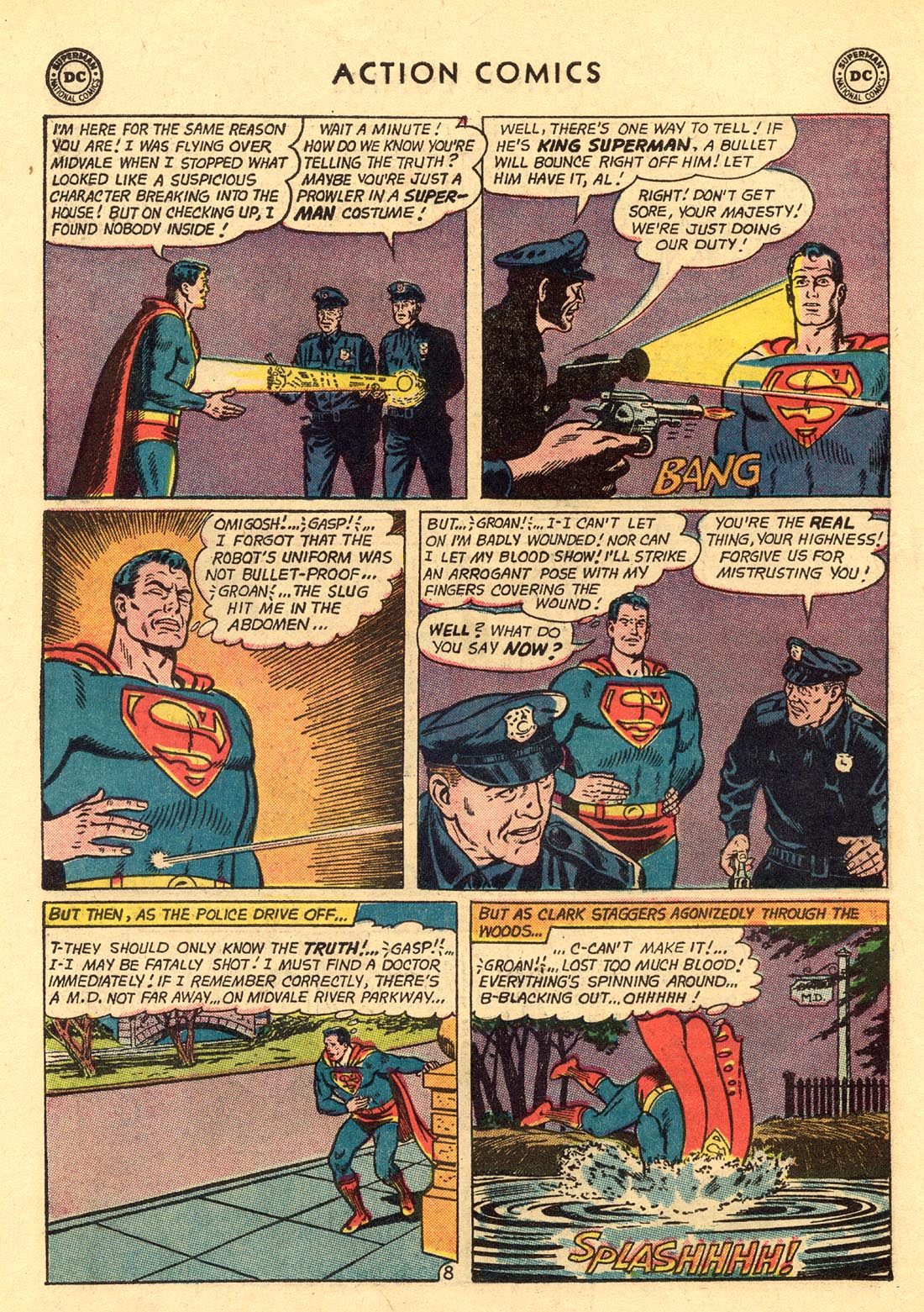 Read online Action Comics (1938) comic -  Issue #312 - 10