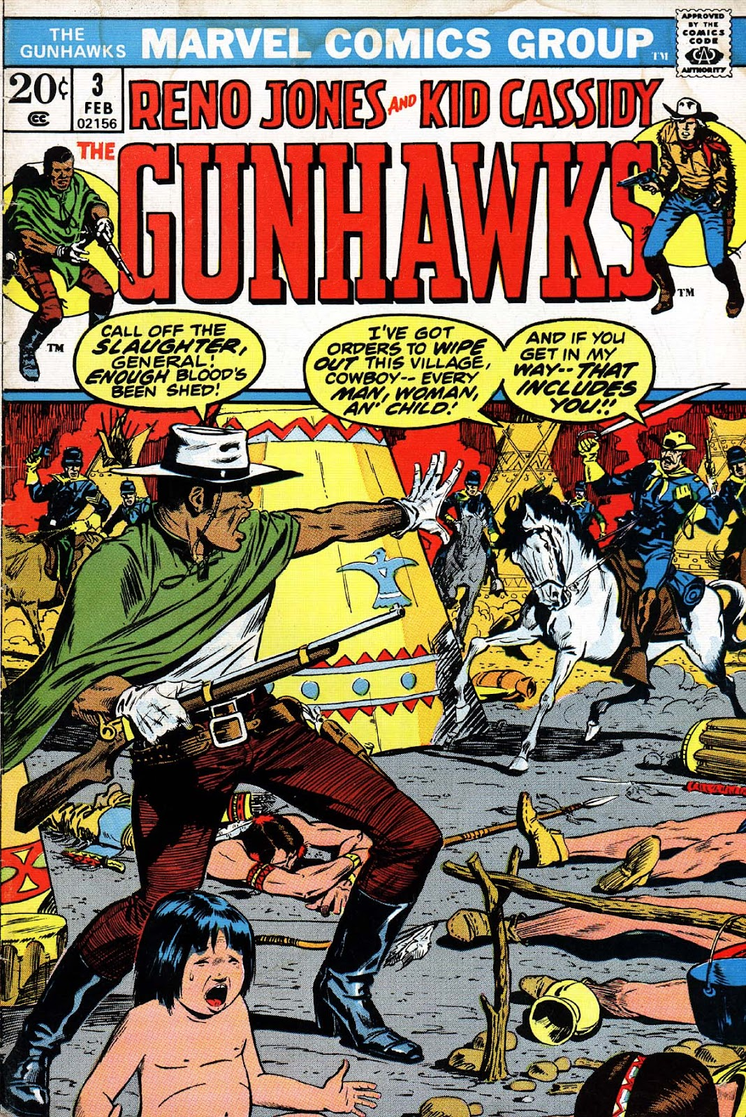 Gunhawks issue 3 - Page 1