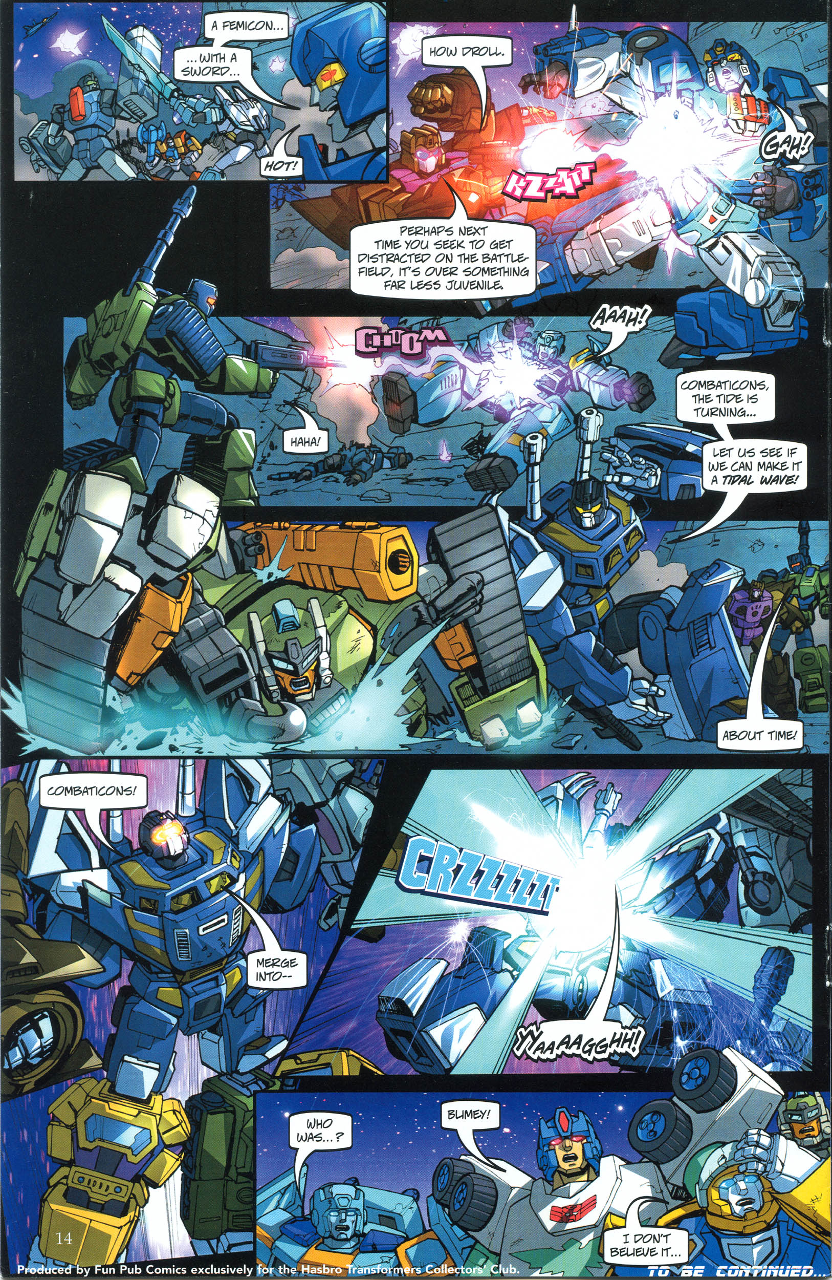 Read online Transformers: Collectors' Club comic -  Issue #39 - 14