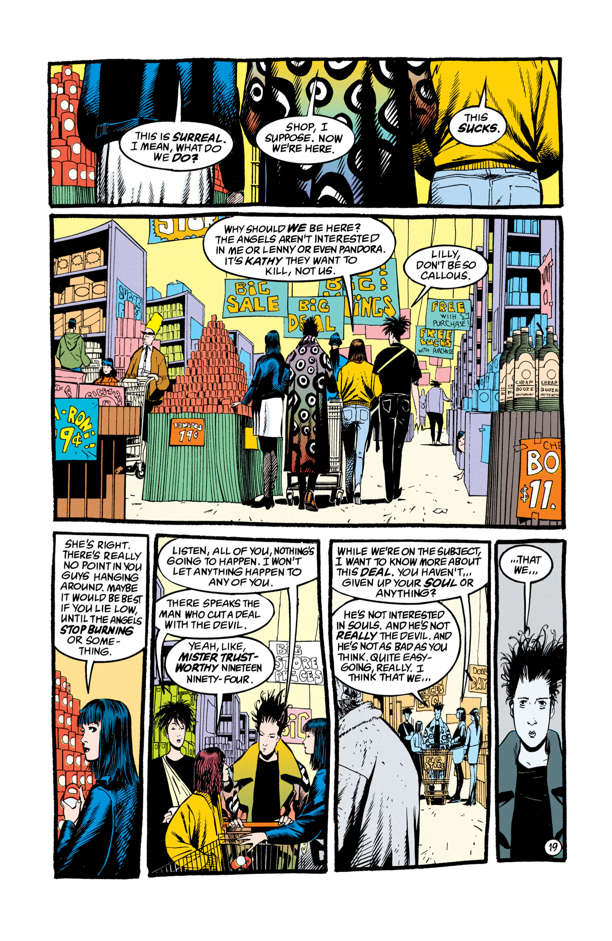 Read online Shade, the Changing Man comic -  Issue #50 - 20