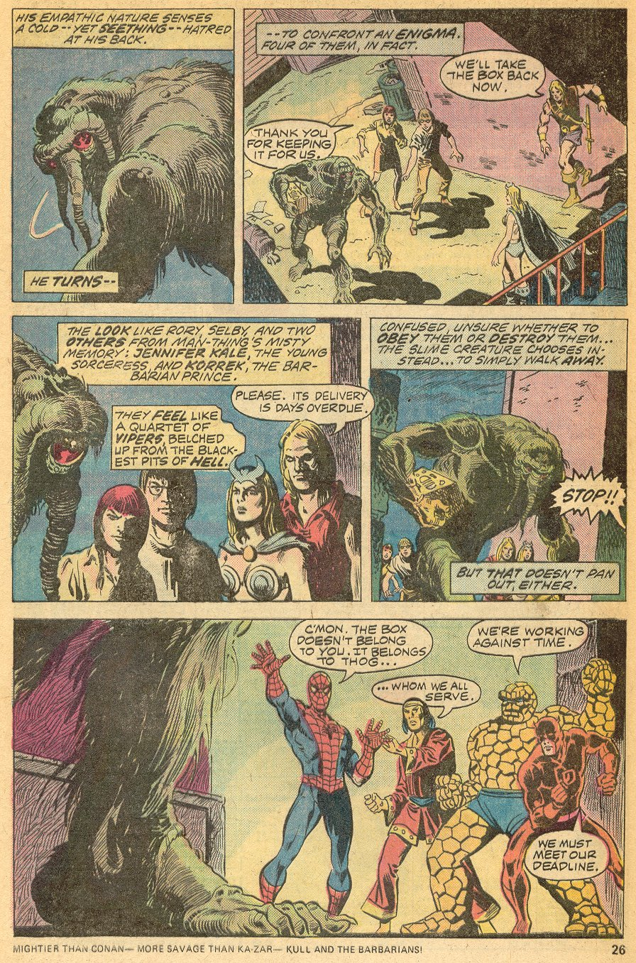 Man-Thing (1974) issue 20 - Page 17