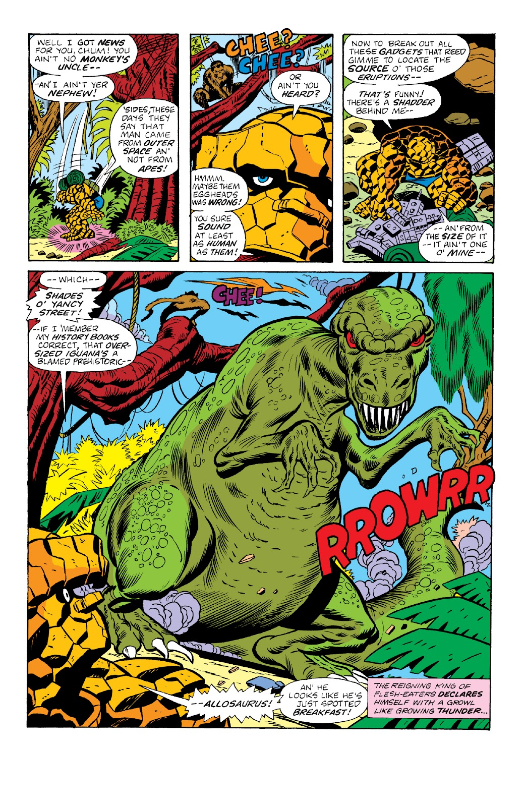 Read online Marvel Two-In-One Epic Collection: Cry Monster comic -  Issue # TPB (Part 4) - 36
