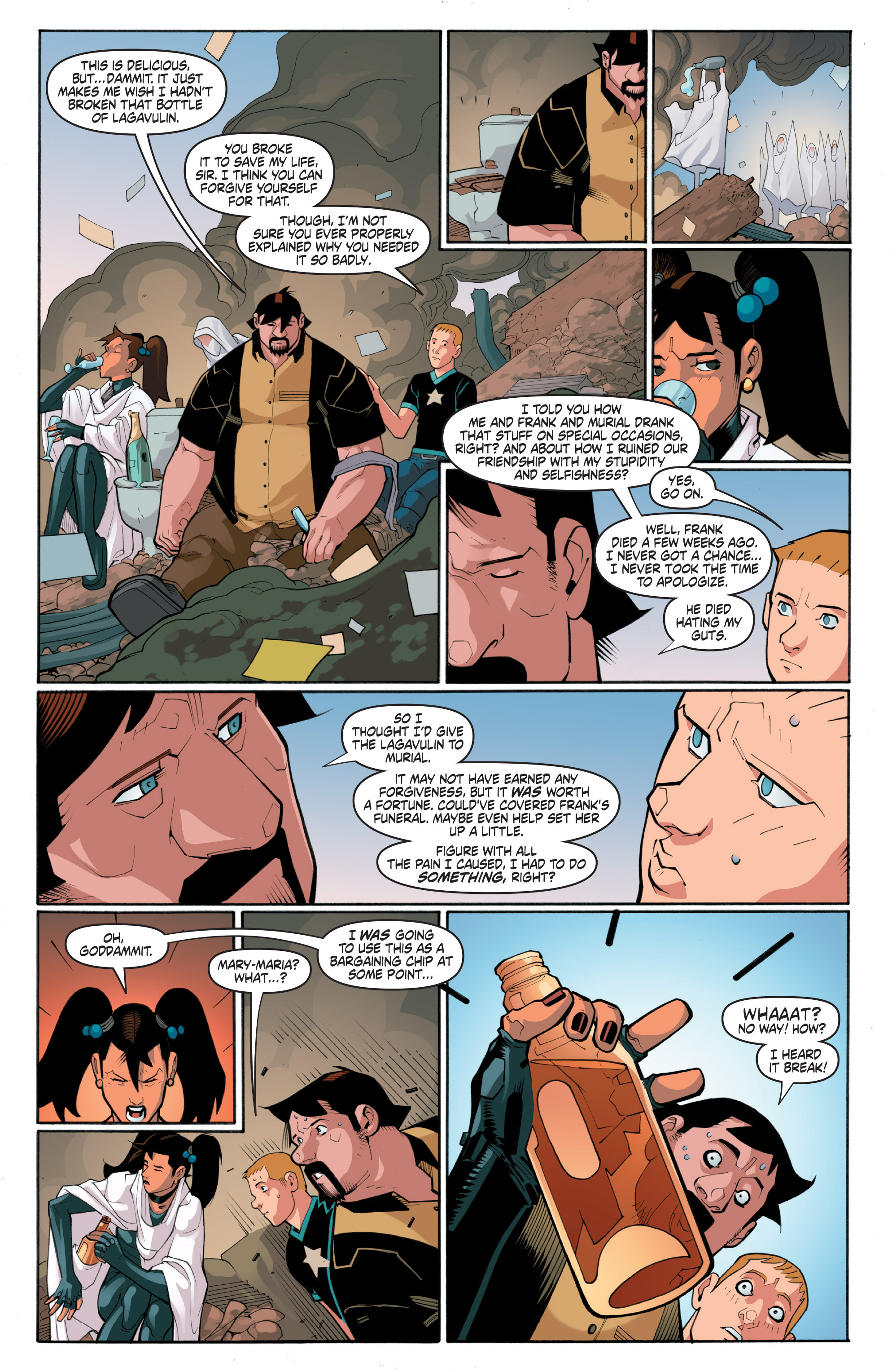 Read online A&A: The Adventures of Archer & Armstrong comic -  Issue #4 - 20
