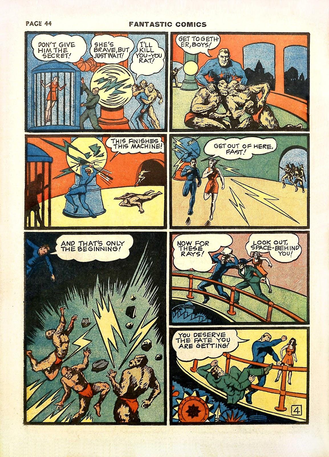 Read online Fantastic Comics comic -  Issue #11 - 47