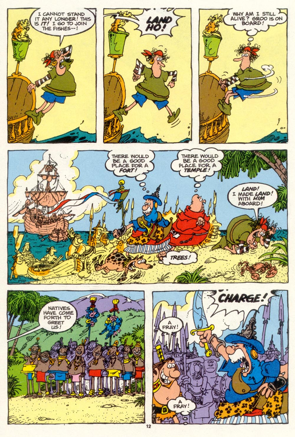 Read online Sergio Aragonés Groo the Wanderer comic -  Issue #101 - 14