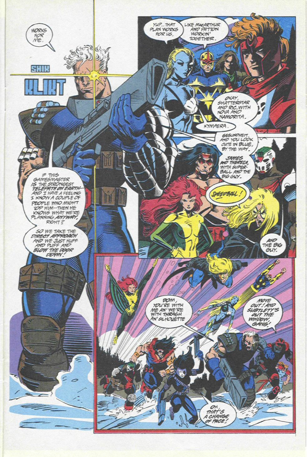 The New Warriors Issue #46 #50 - English 6