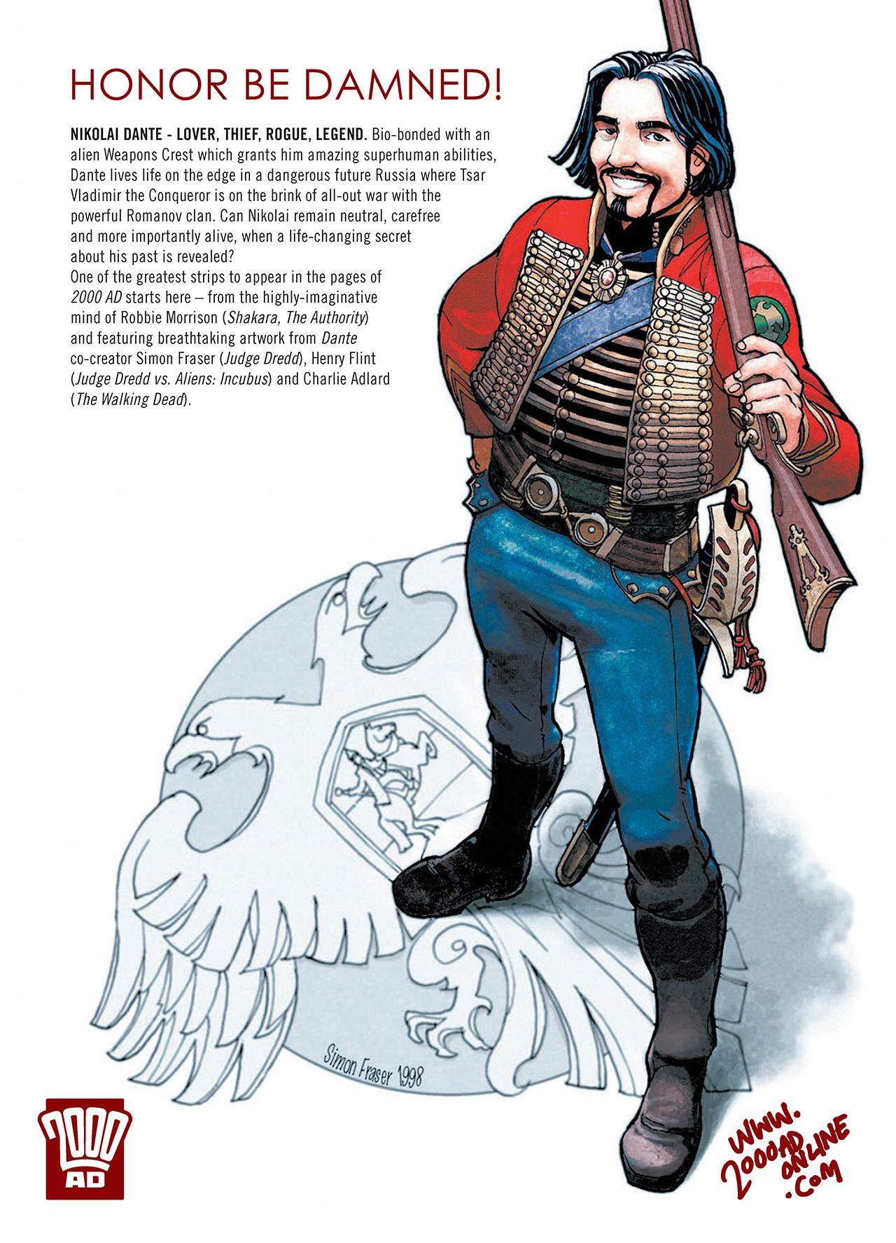 Read online Nikolai Dante comic -  Issue # TPB 1 - 185