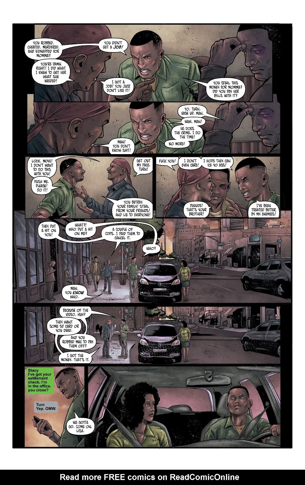 Read online Vindication comic -  Issue #4 - 19