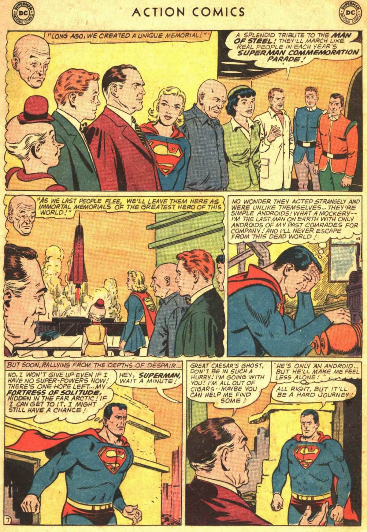 Read online Action Comics (1938) comic -  Issue #300 - 9