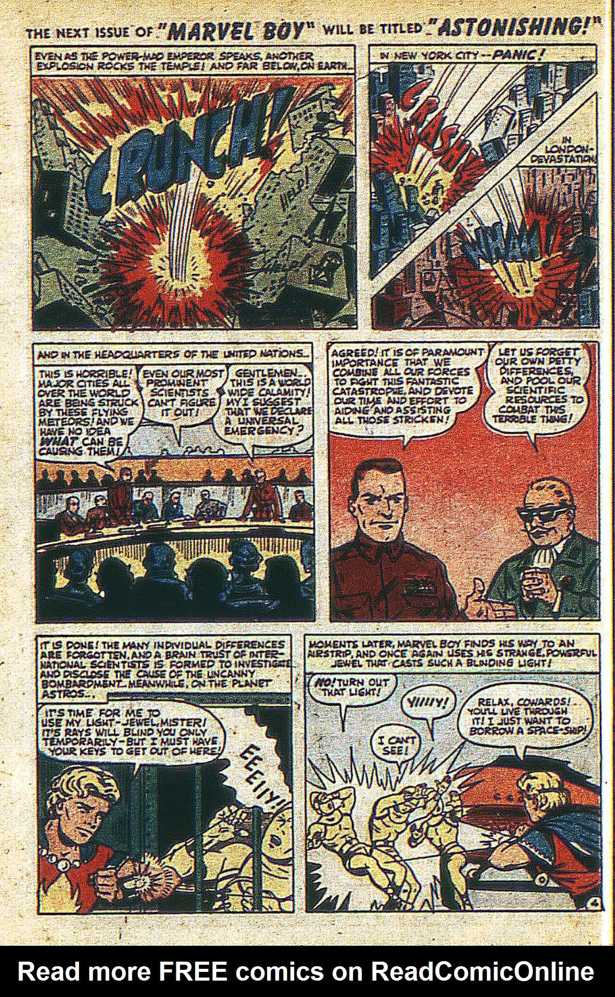 Read online Marvel Boy (1950) comic -  Issue #2 - 7
