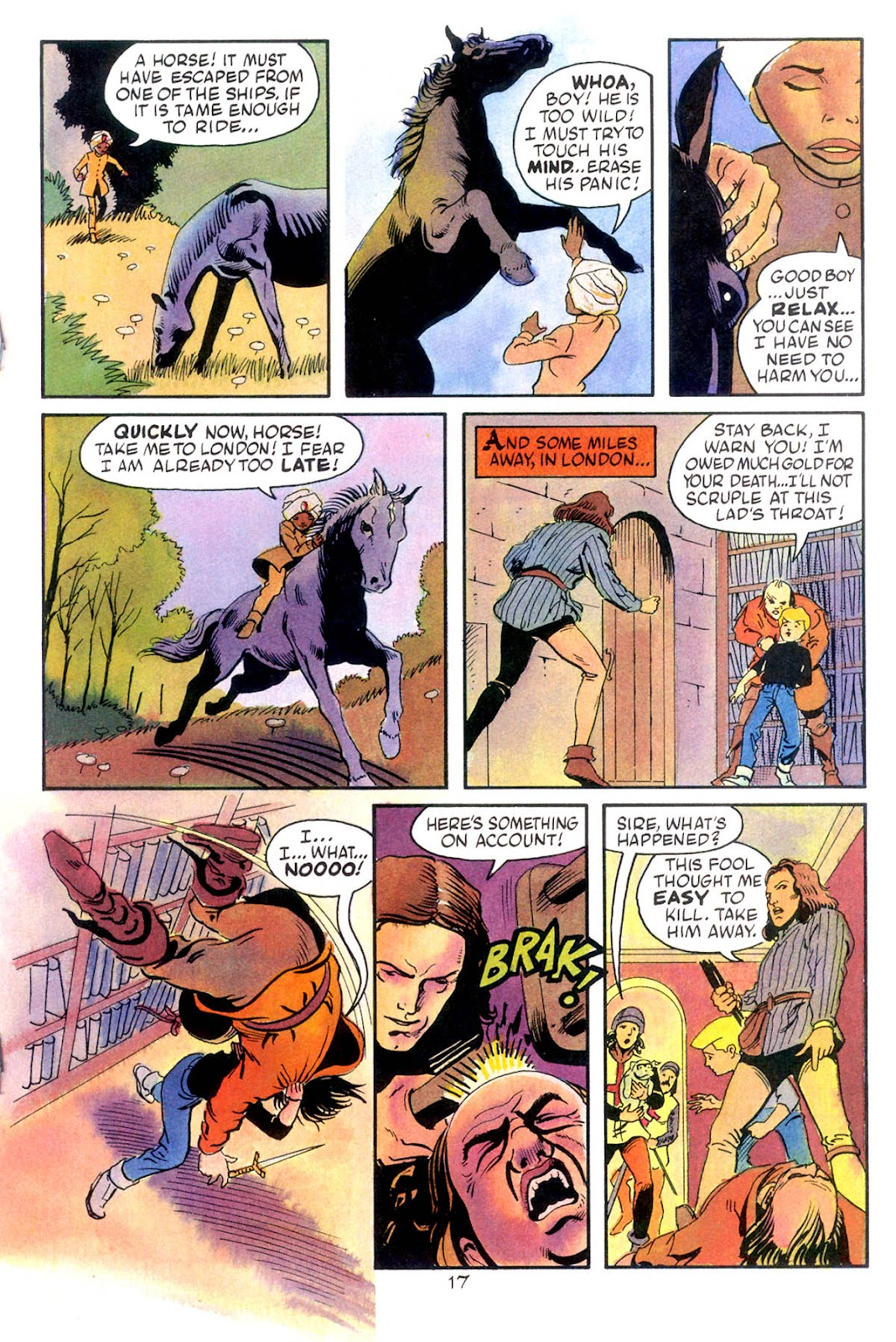 Jonny Quest (1986) issue 10 - Page 19