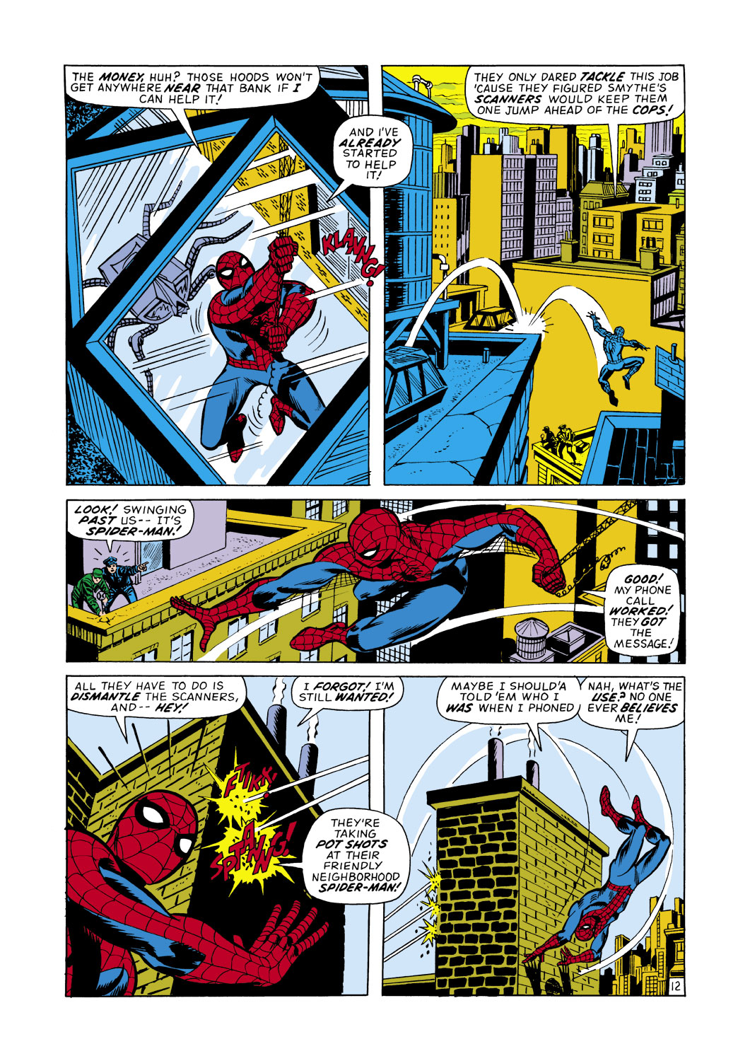 The Amazing Spider-Man (1963) 107 Page 12