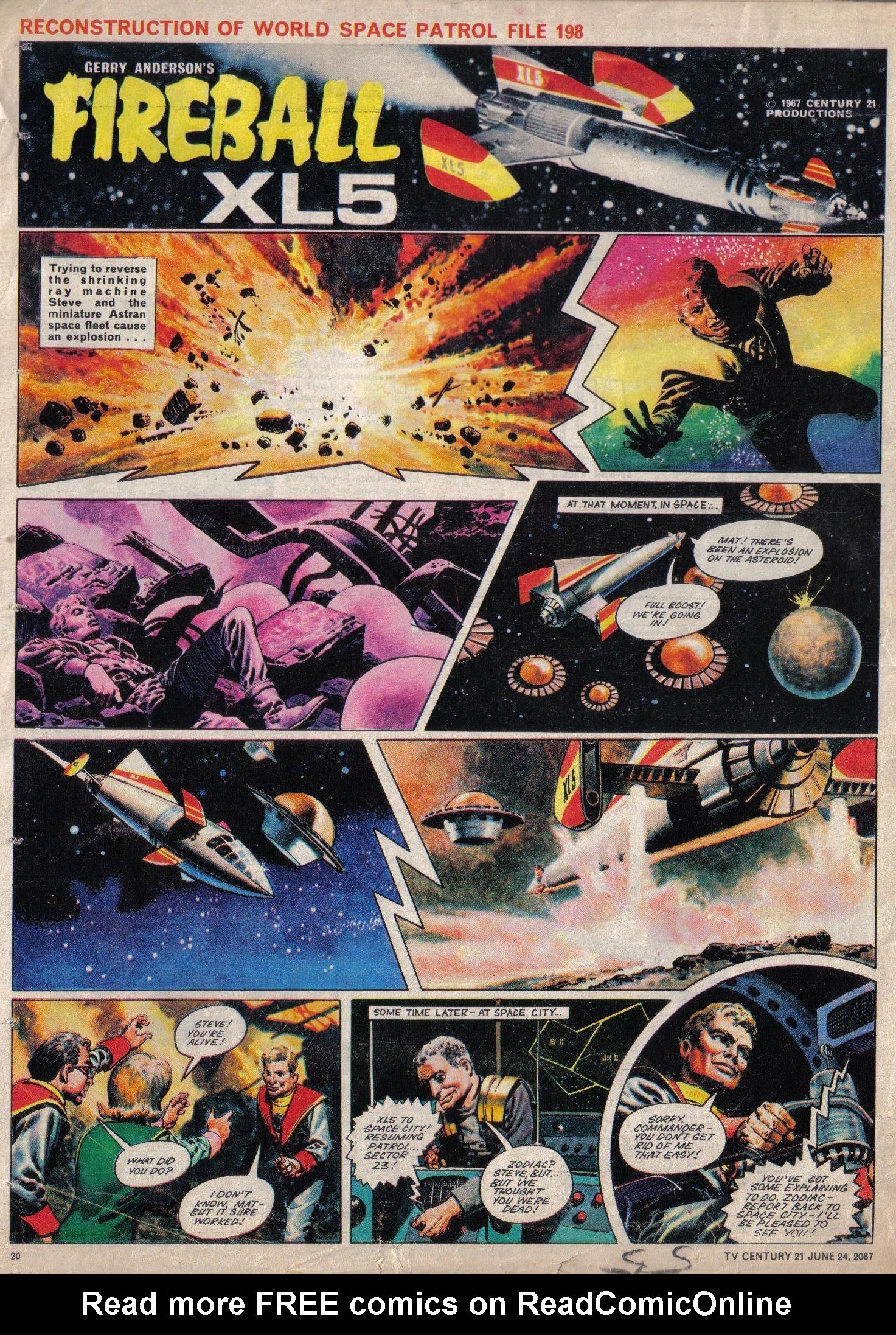 Read online TV Century 21 (TV 21) comic -  Issue #127 - 19