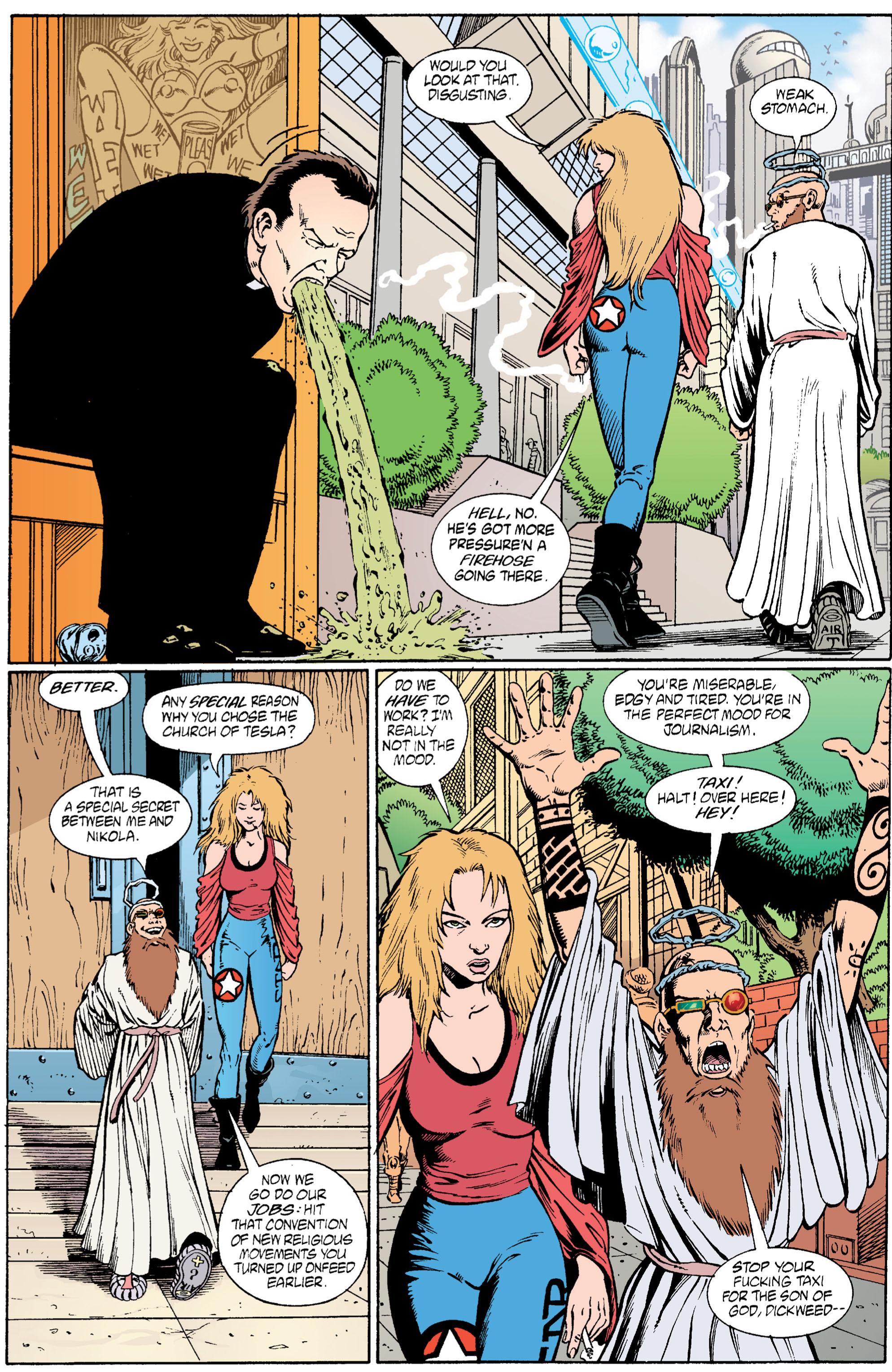 Read online Transmetropolitan comic -  Issue #6 - 13