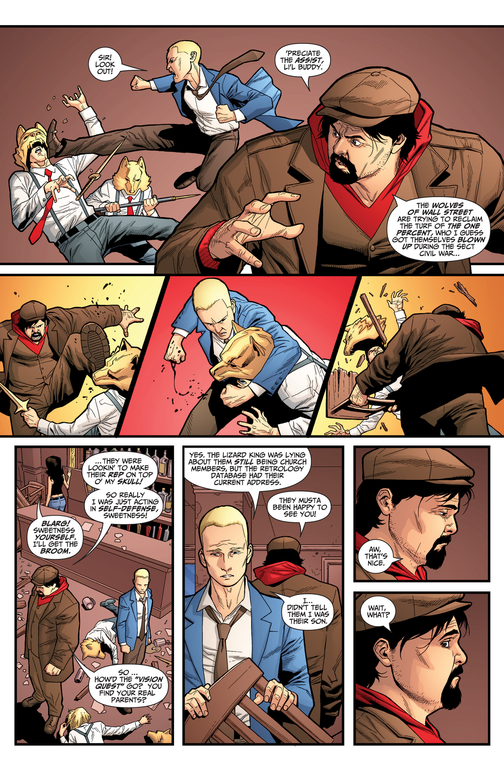 Read online Archer and Armstrong comic -  Issue #25 - 10