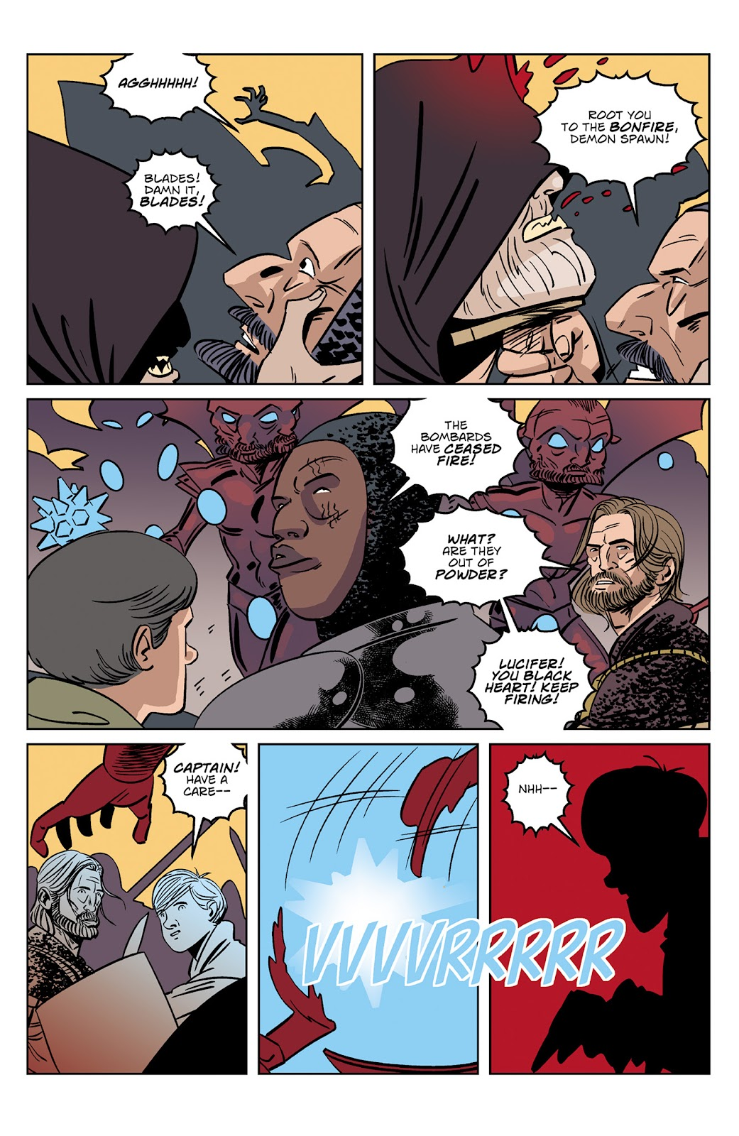Read online Dark Ages comic -  Issue #4 - 13